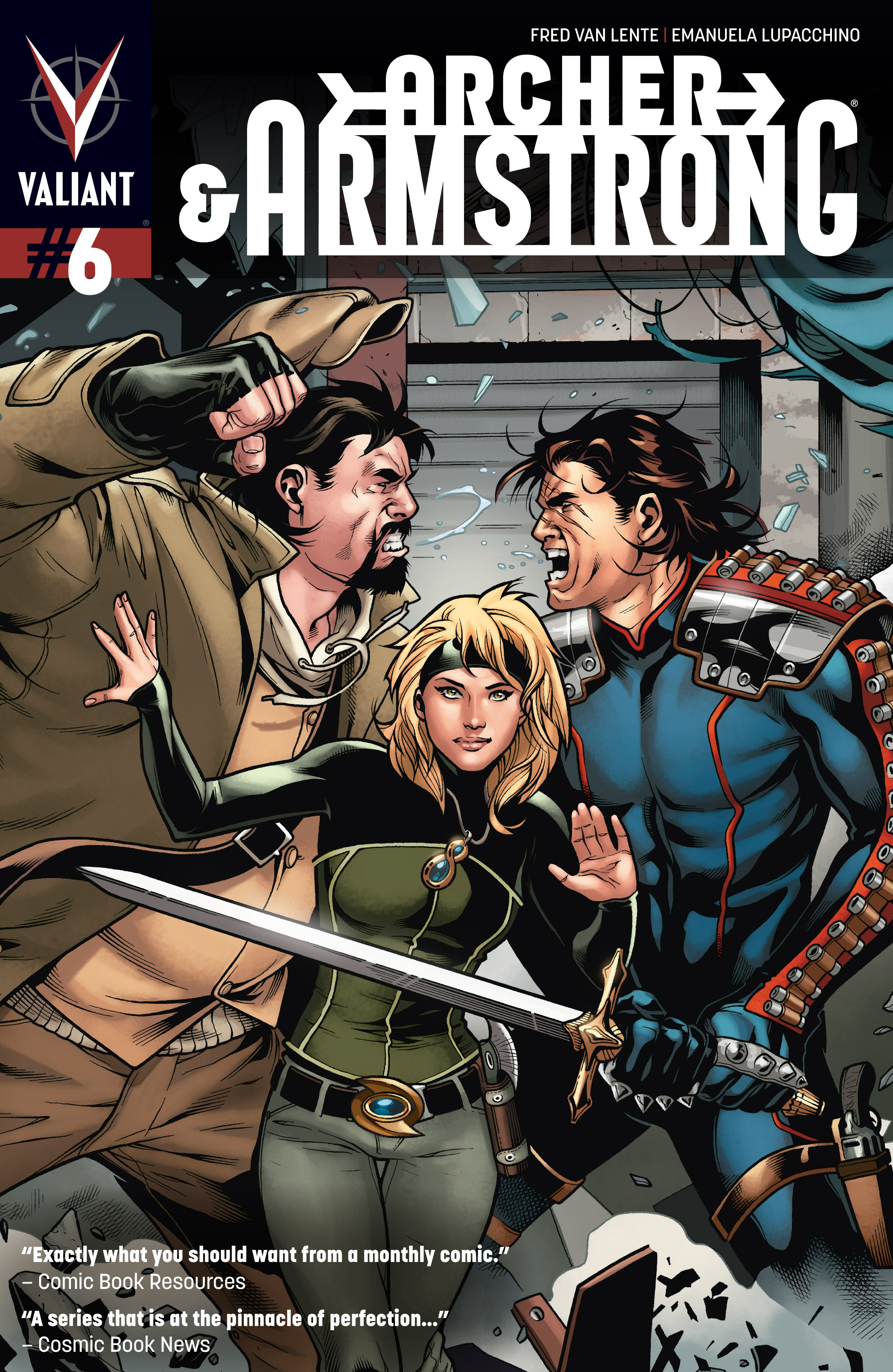 Read online Archer and Armstrong comic -  Issue #6 - 1