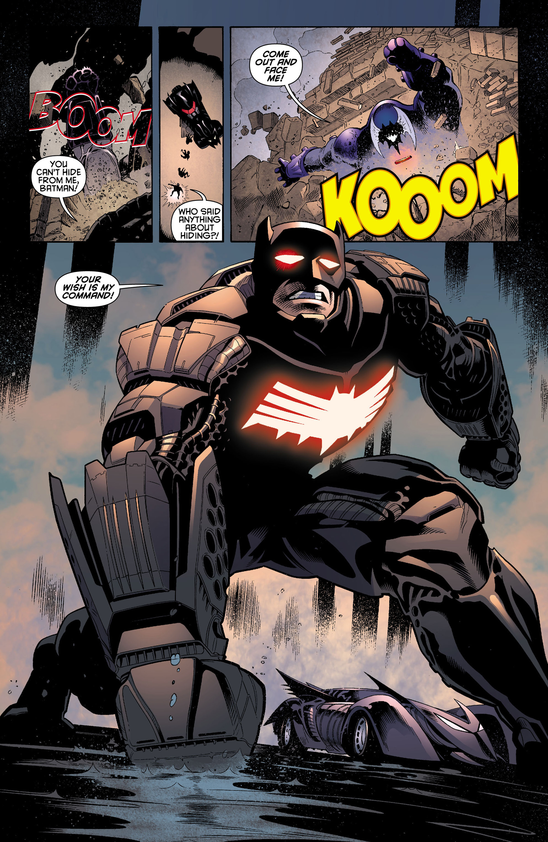 Read online Batman and Robin (2011) comic -  Issue #12 - 7