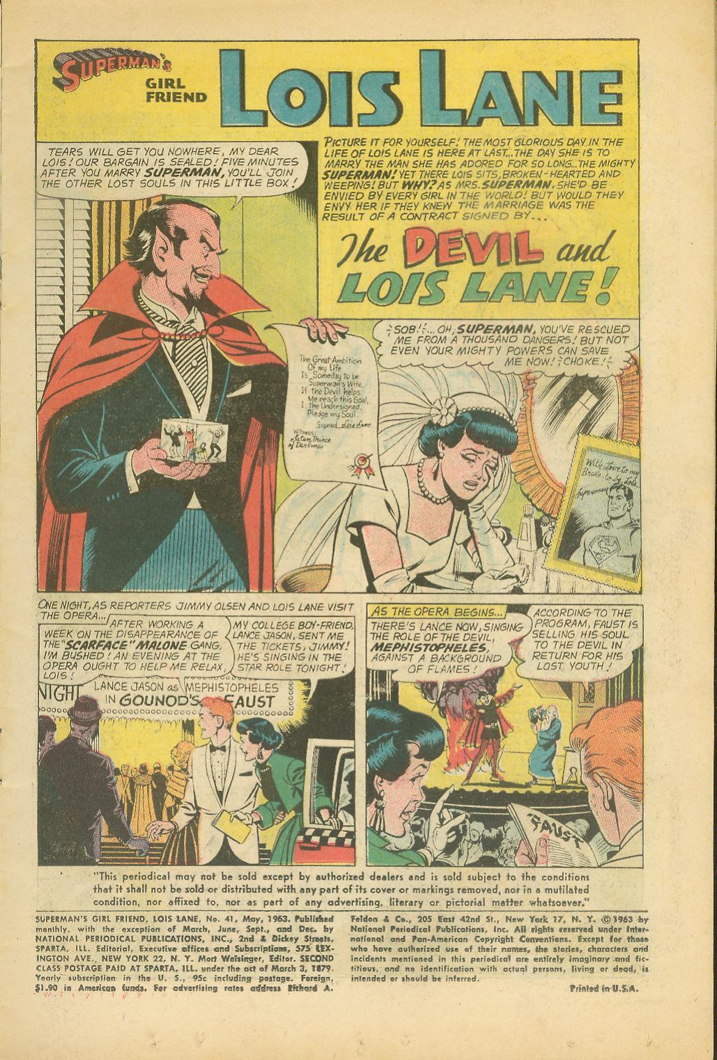 Supermans Girl Friend, Lois Lane 41 Page 3