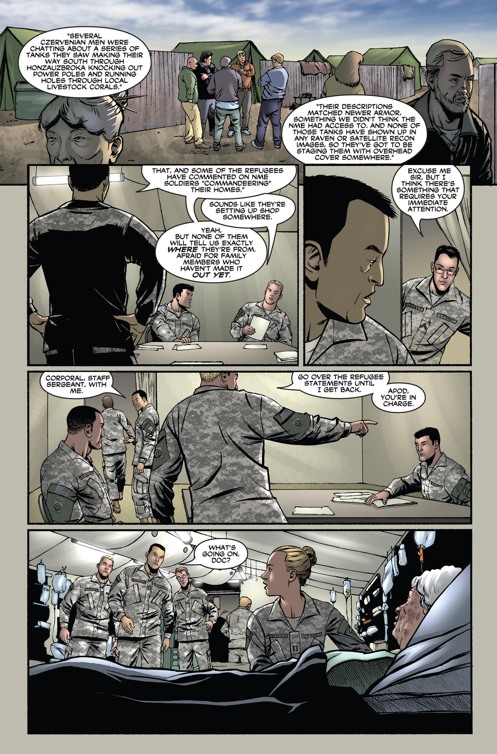 Read online America's Army comic -  Issue #1 - 11