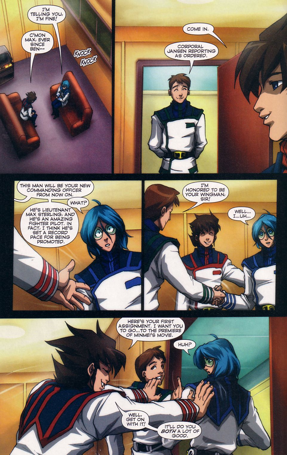 Read online Robotech: Love and War comic -  Issue #5 - 11
