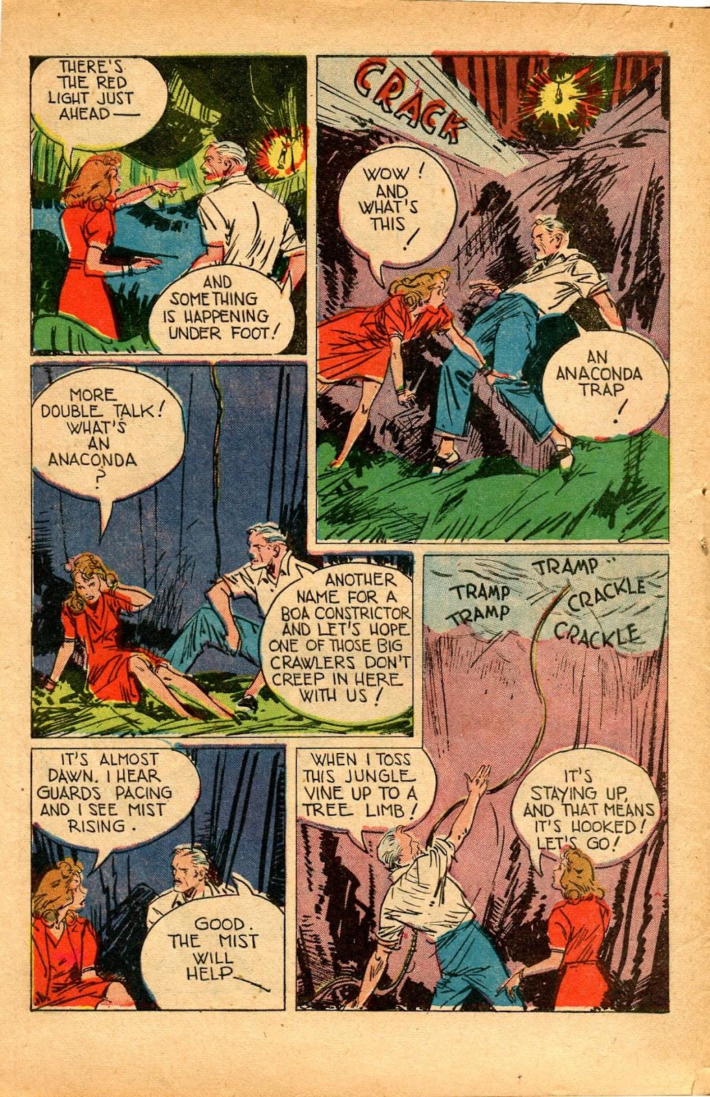Read online Super-Magician Comics comic -  Issue #33 - 12