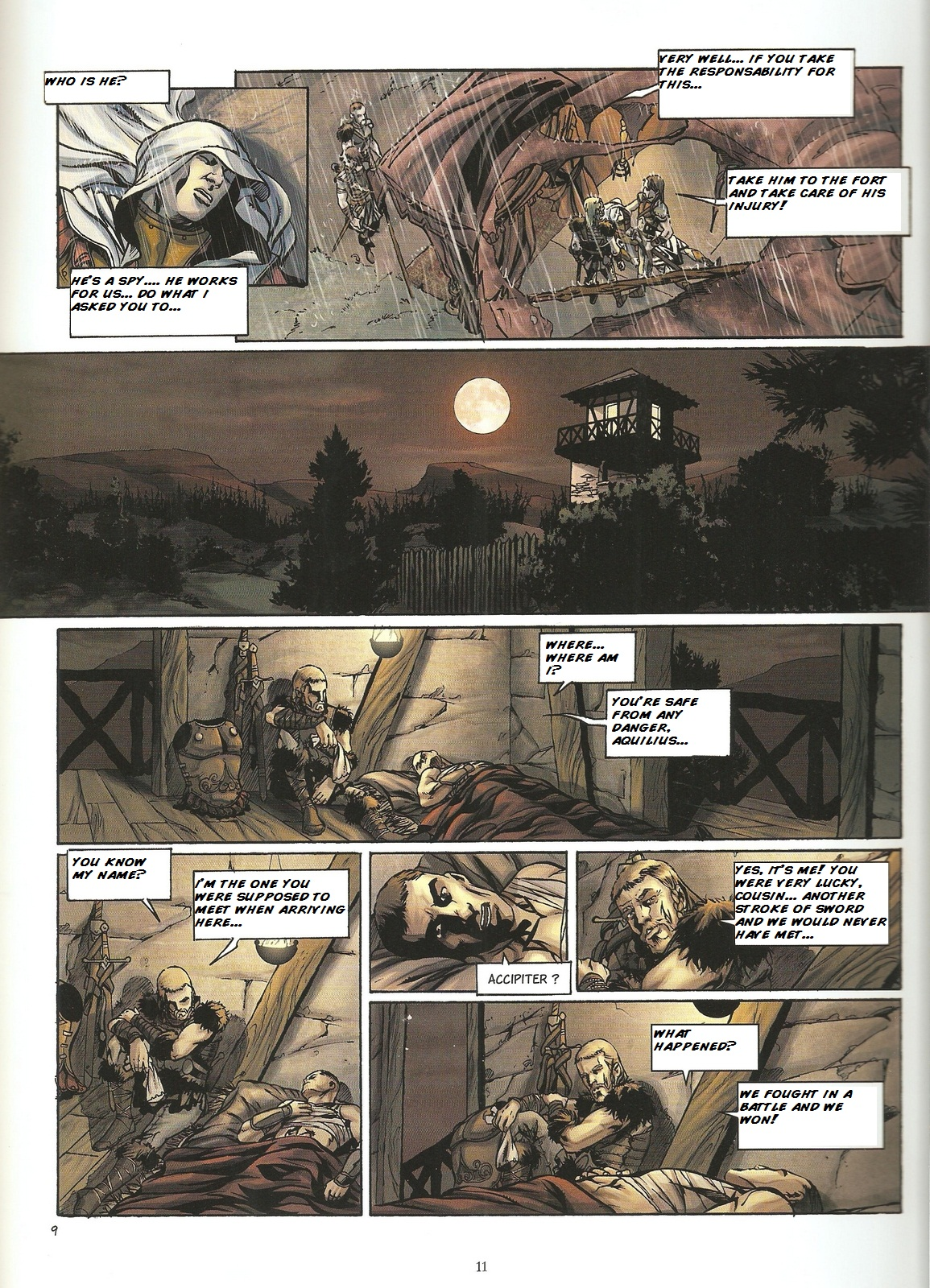Read online Assassin's Creed (2009) comic -  Issue #2 - 11