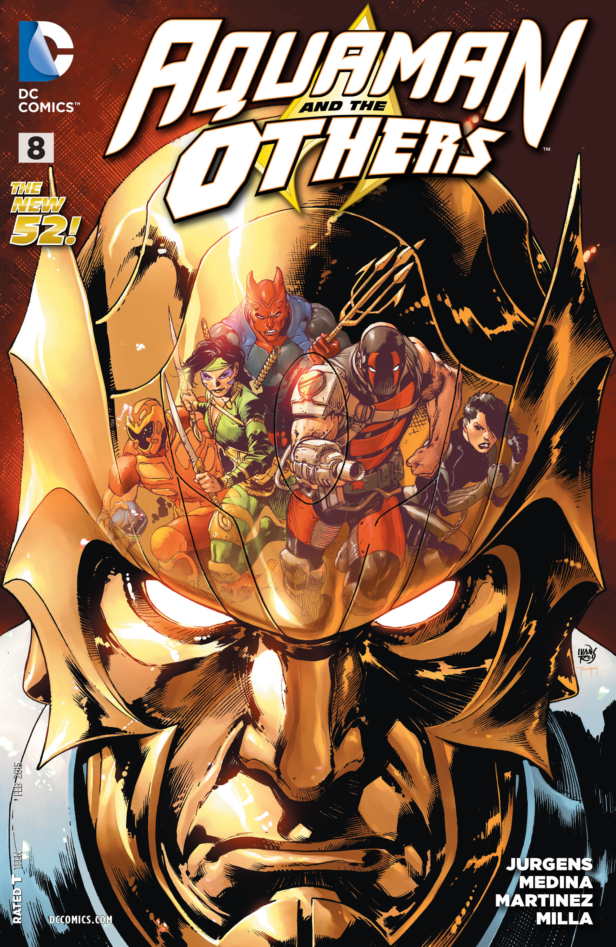 Read online Aquaman and the Others comic -  Issue #8 - 1