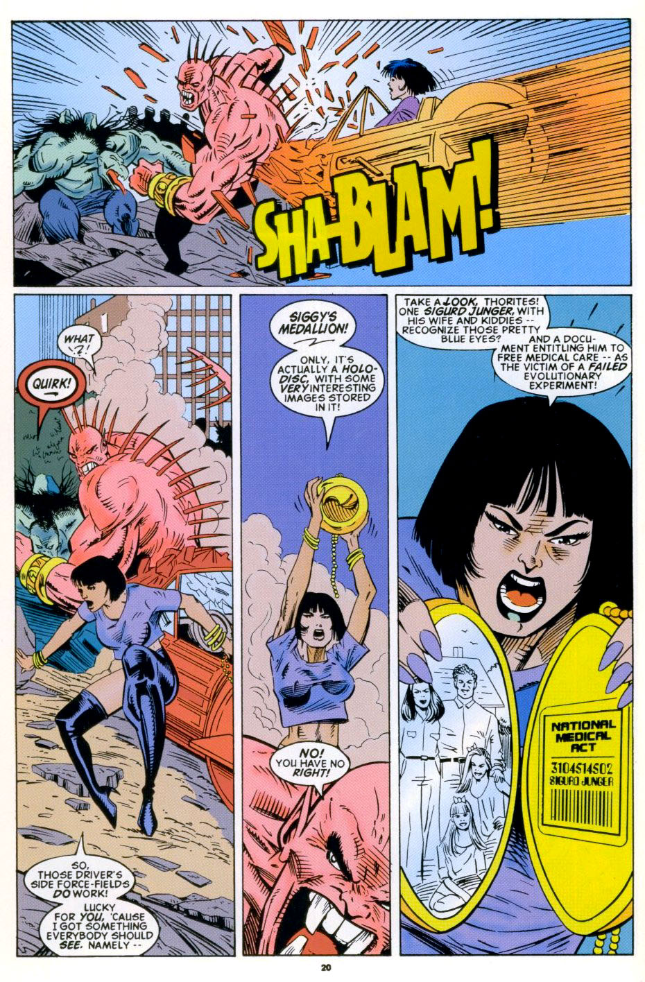 Read online 2099 Unlimited comic -  Issue #4 - 17