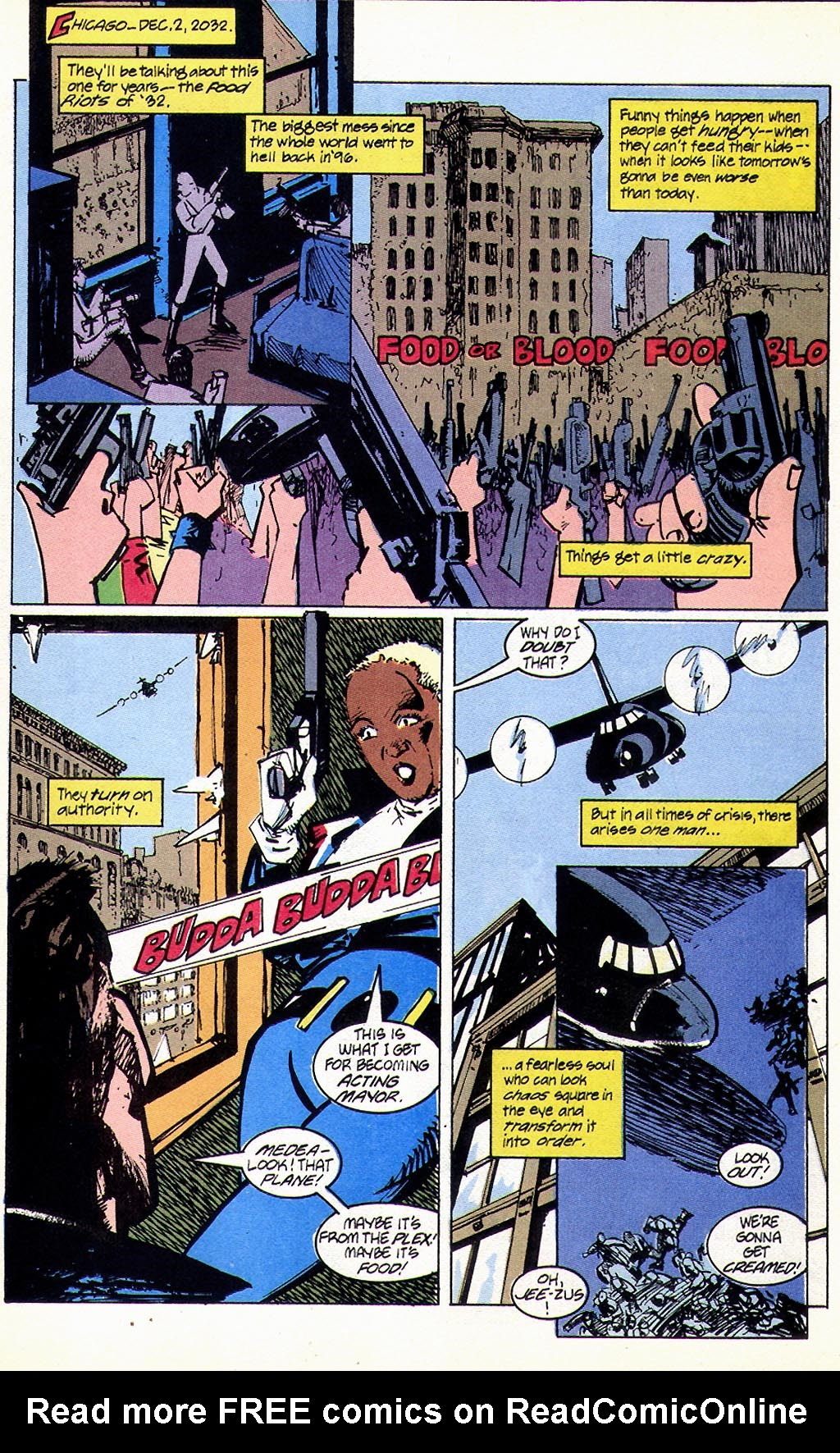 Read online American Flagg! comic -  Issue #45 - 3