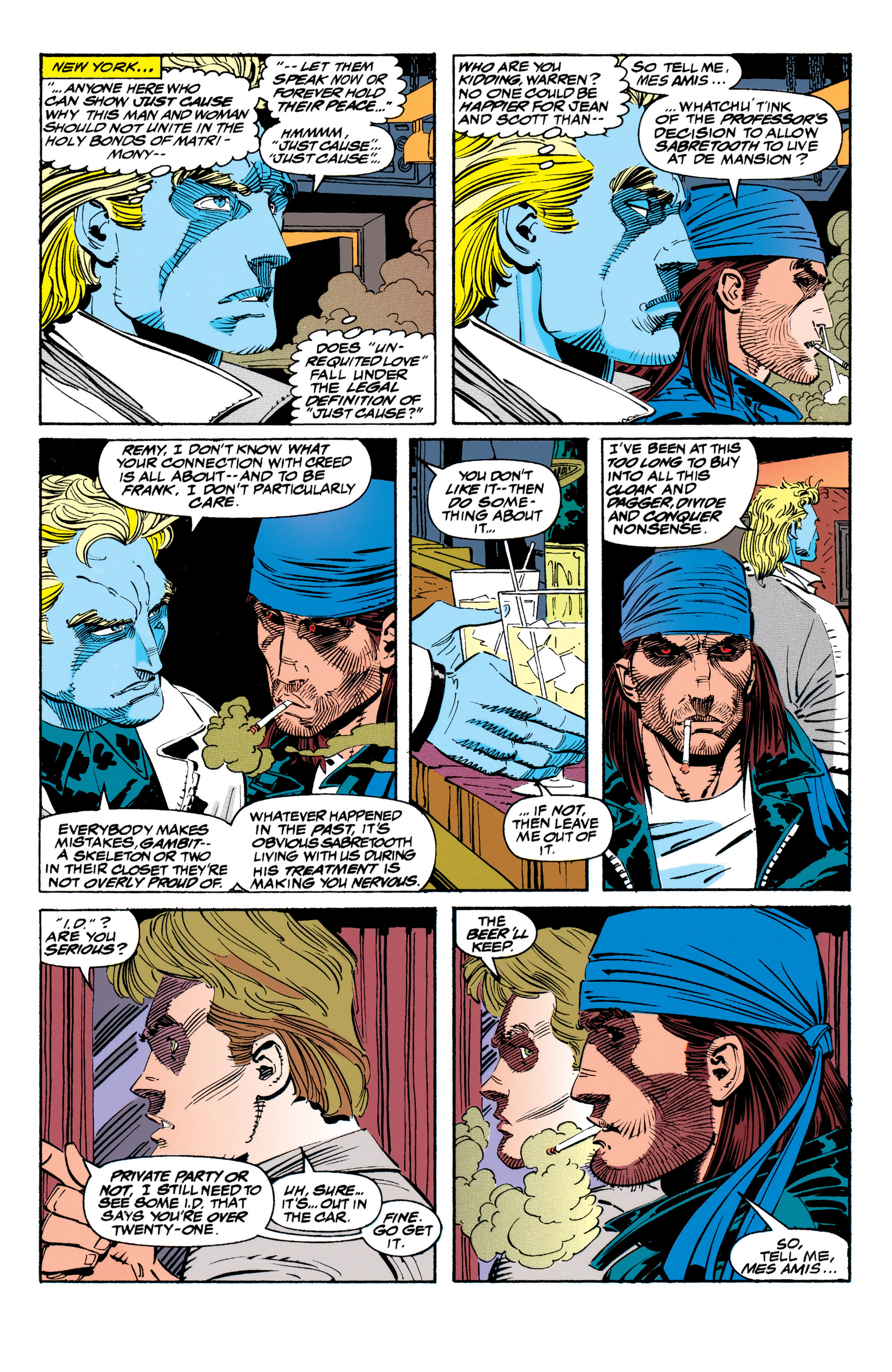 Read online Uncanny X-Men (1963) comic -  Issue #310 - 9