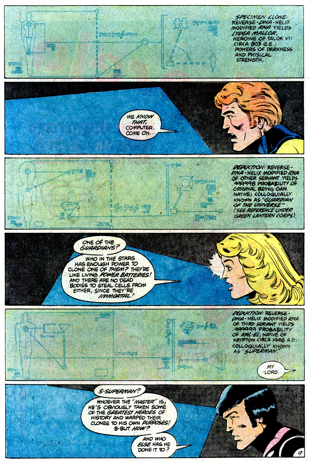 Legion of Super-Heroes (1980) 292 Page 9