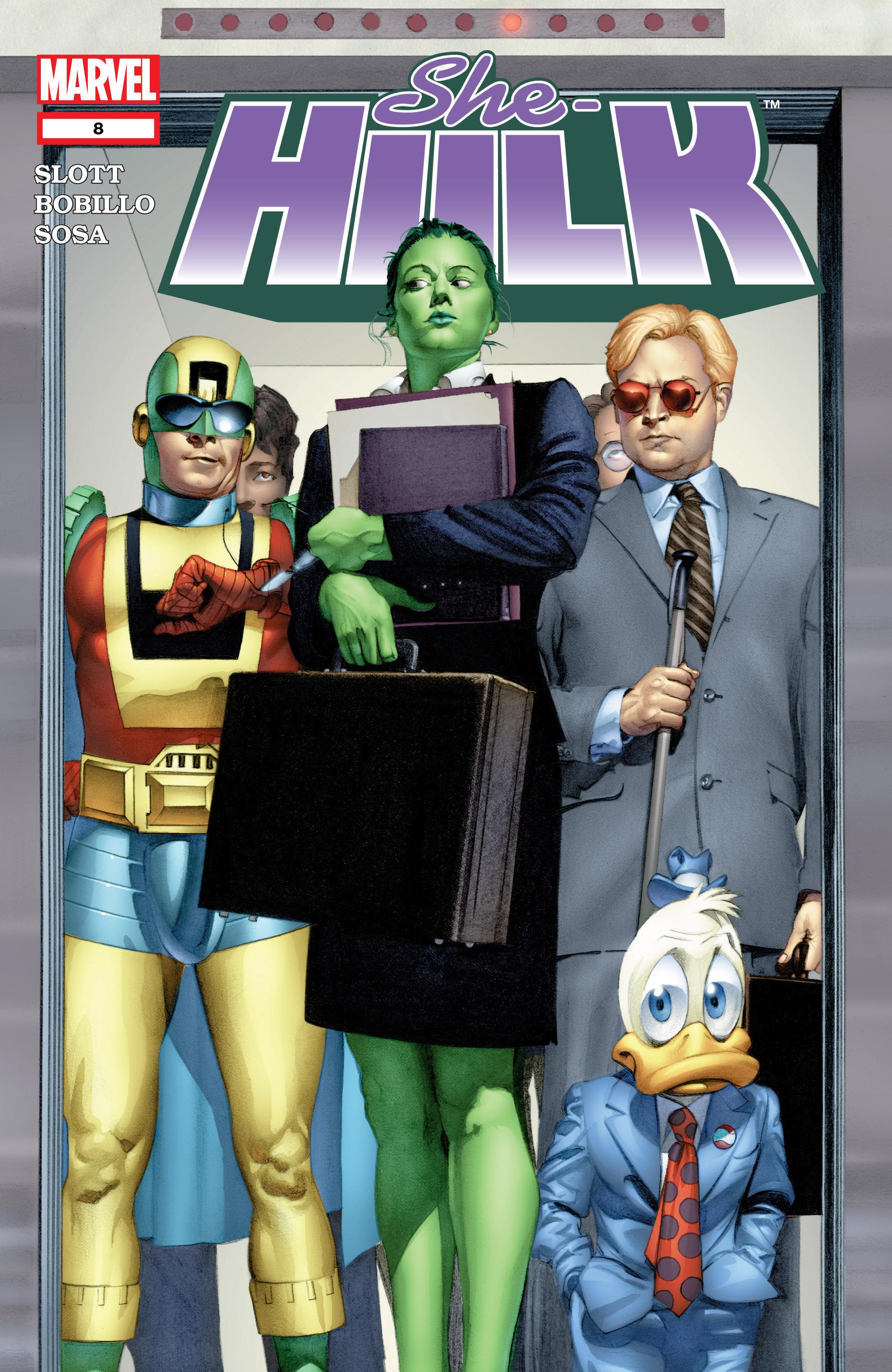 Read online She-Hulk (2004) comic -  Issue #8 - 1