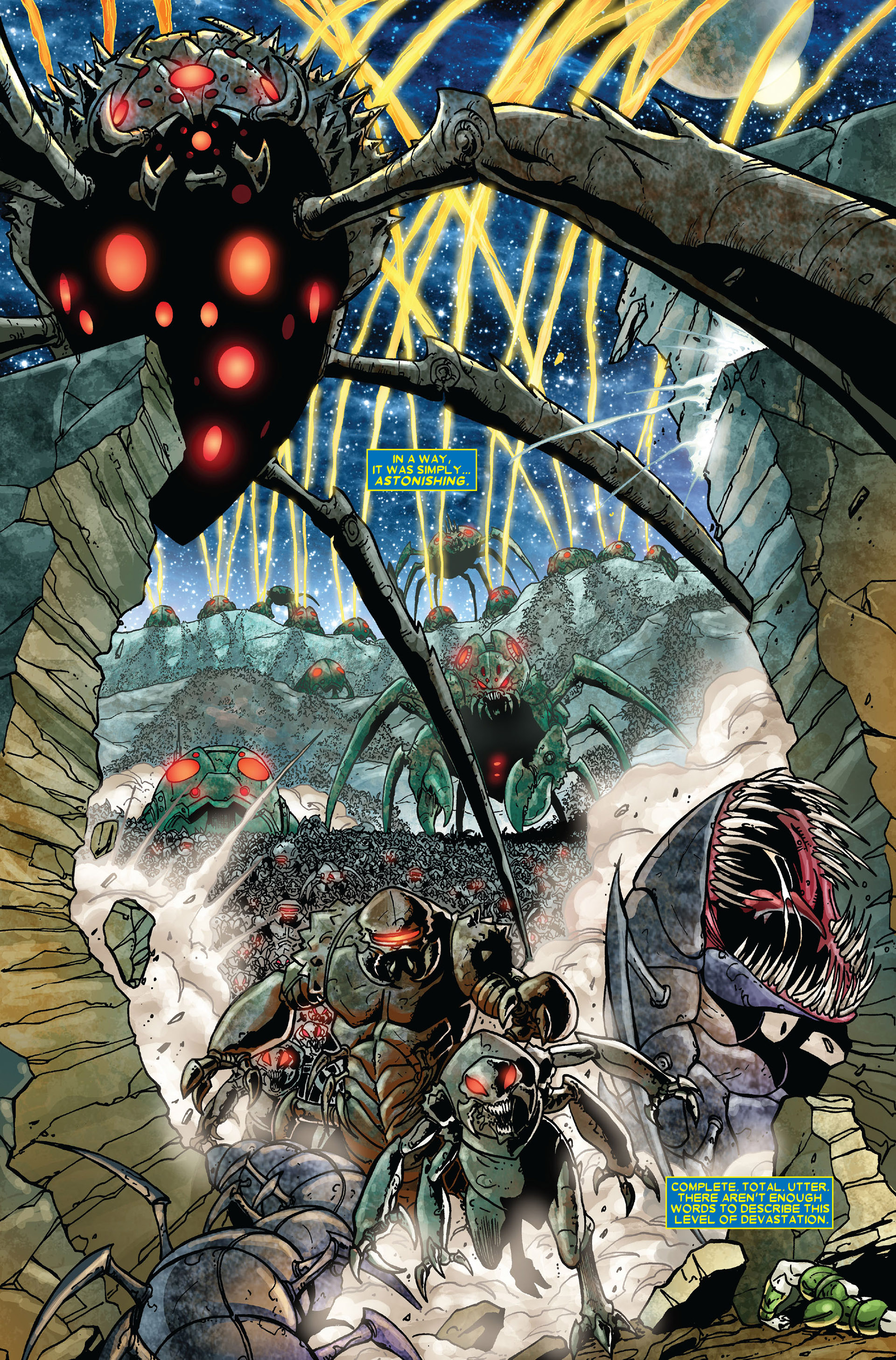 Read online Annihilation comic -  Issue #3 - 5
