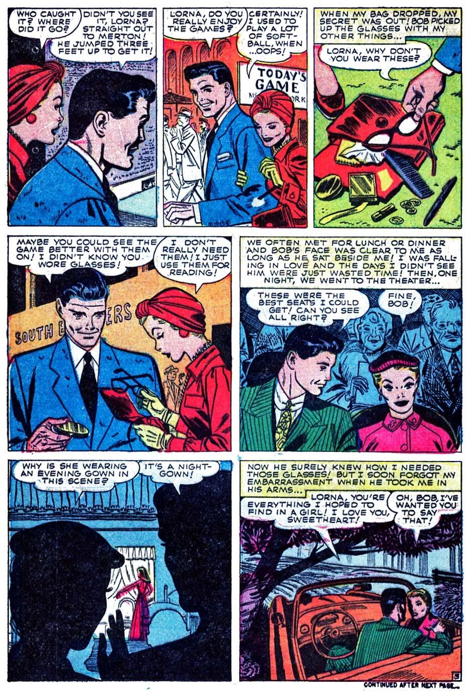 Love Romances (1949) issue 52 - Page 12