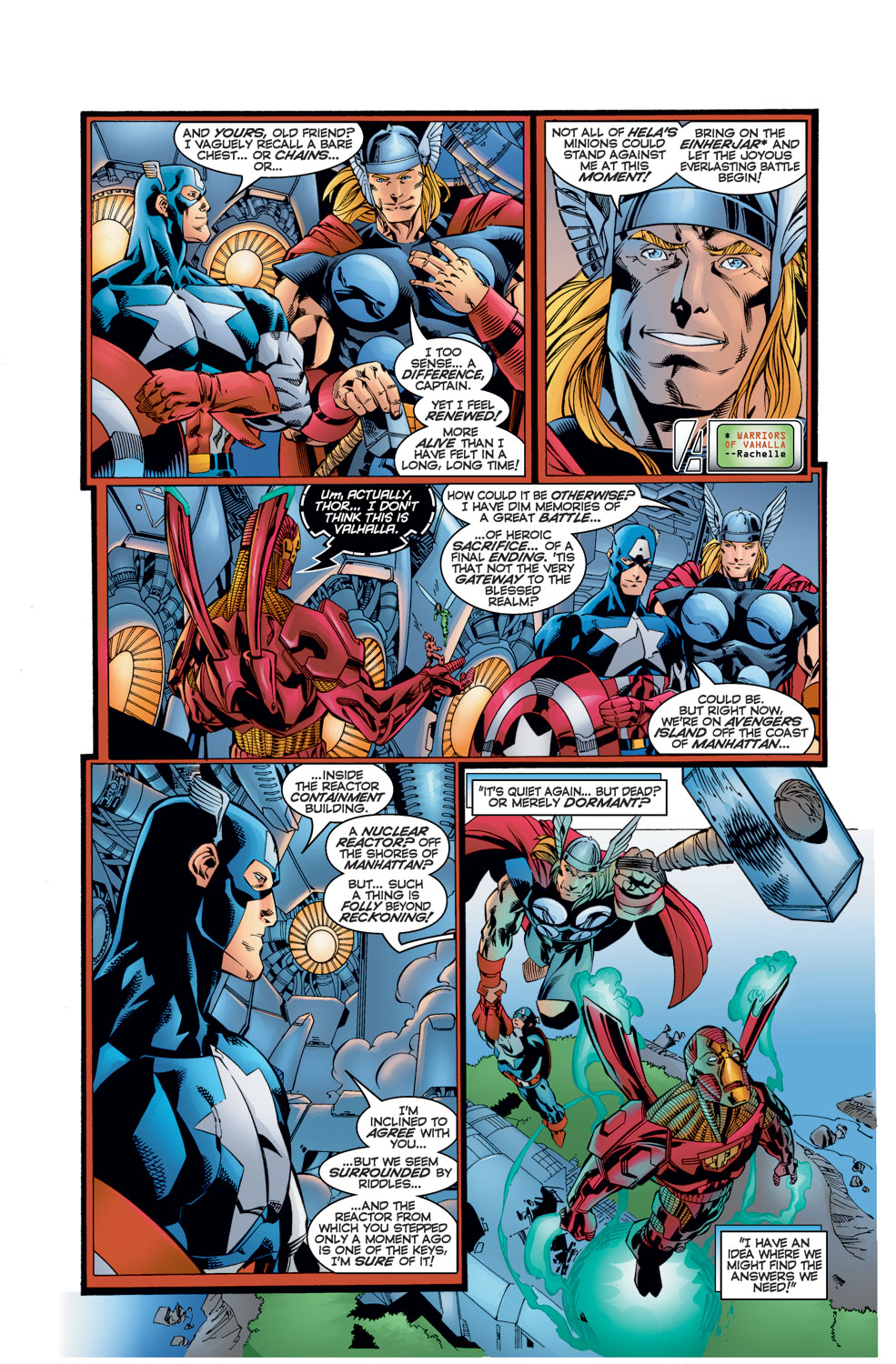 Read online Avengers (1996) comic -  Issue #10 - 4