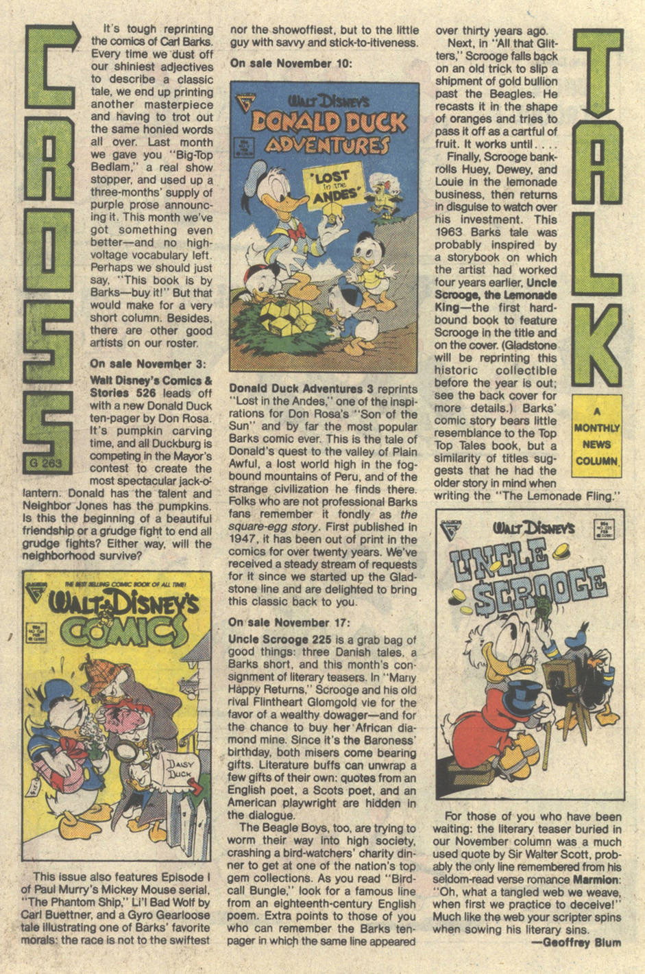 Read online Uncle Scrooge (1953) comic -  Issue #225 - 26