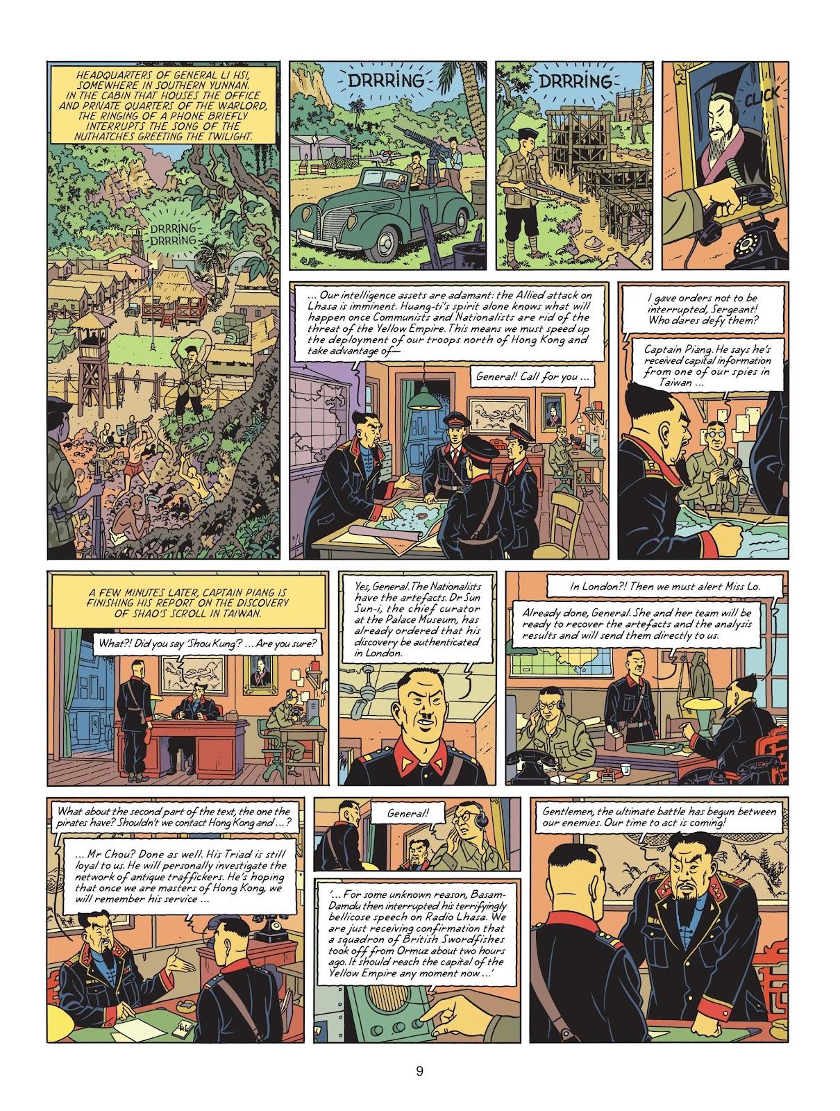 Read online Blake & Mortimer comic -  Issue #25 - 11