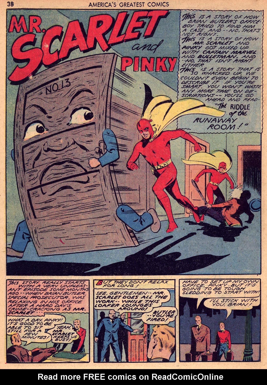 Read online America's Greatest Comics comic -  Issue #7 - 37