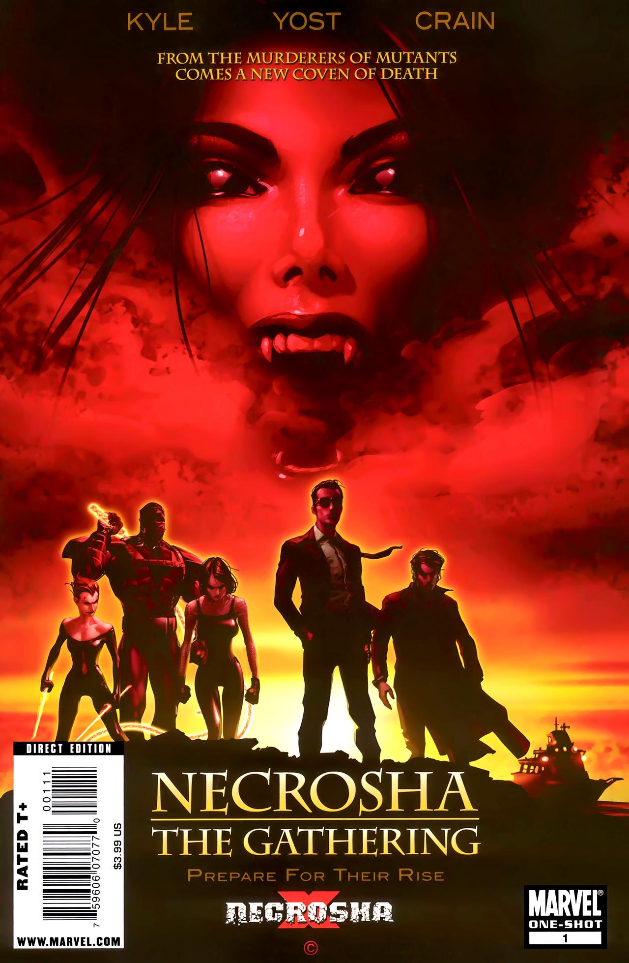 Read online X Necrosha: The Gathering comic -  Issue # Full - 1