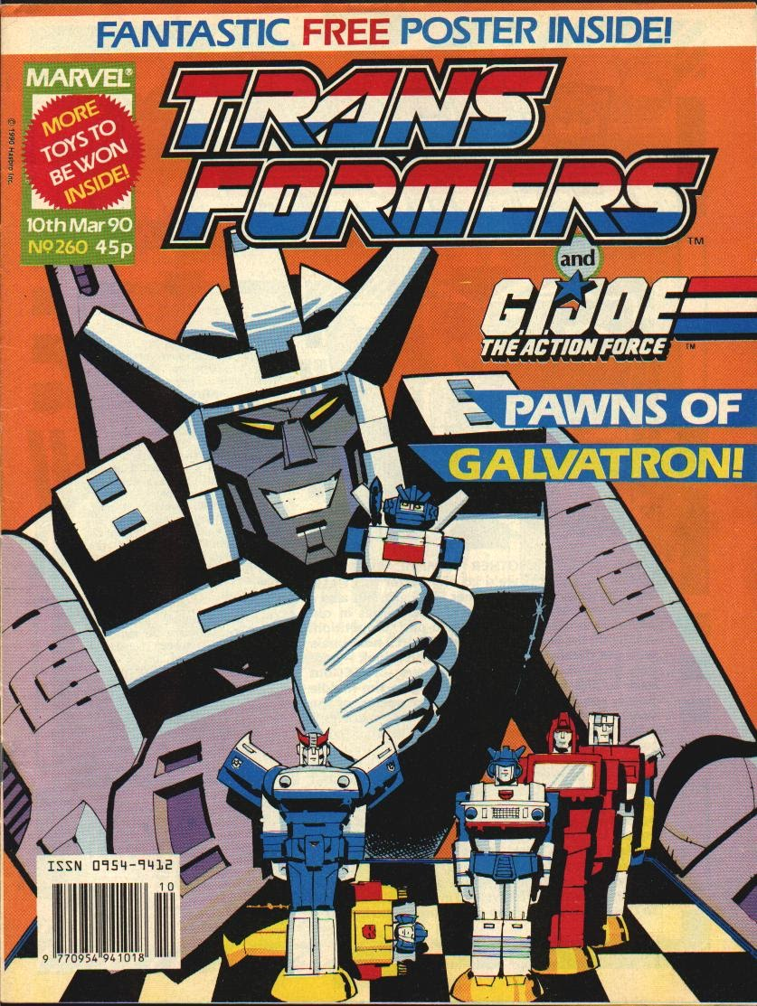 The Transformers (UK) 260 Page 1