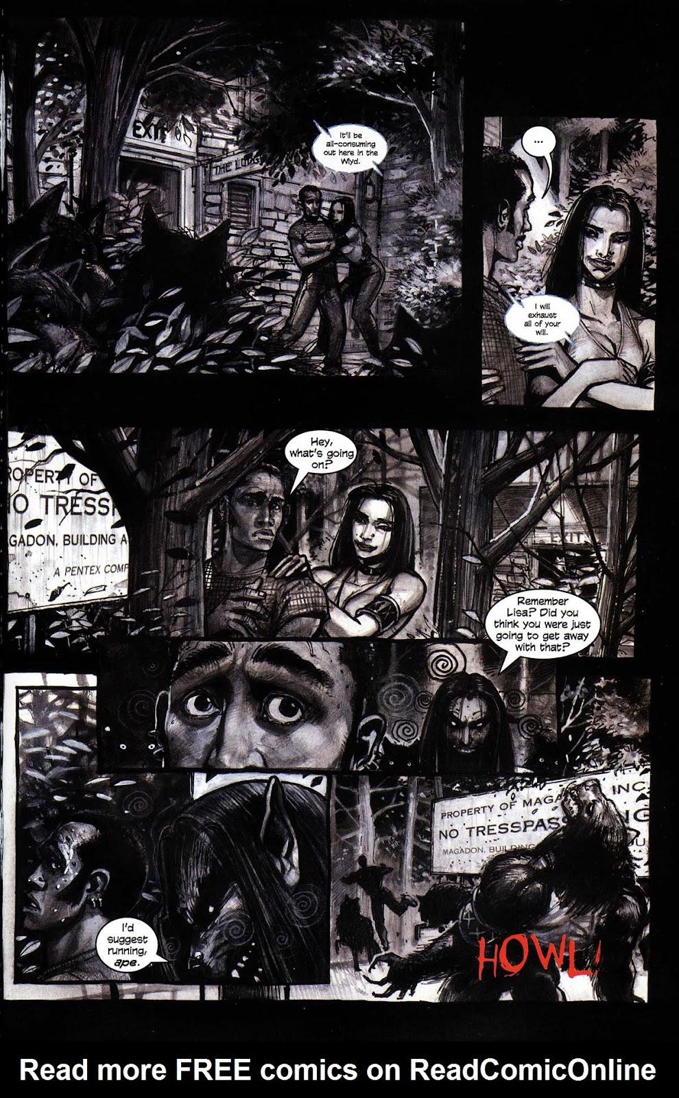 Read online Werewolf the Apocalypse comic -  Issue # Black Furies - 21