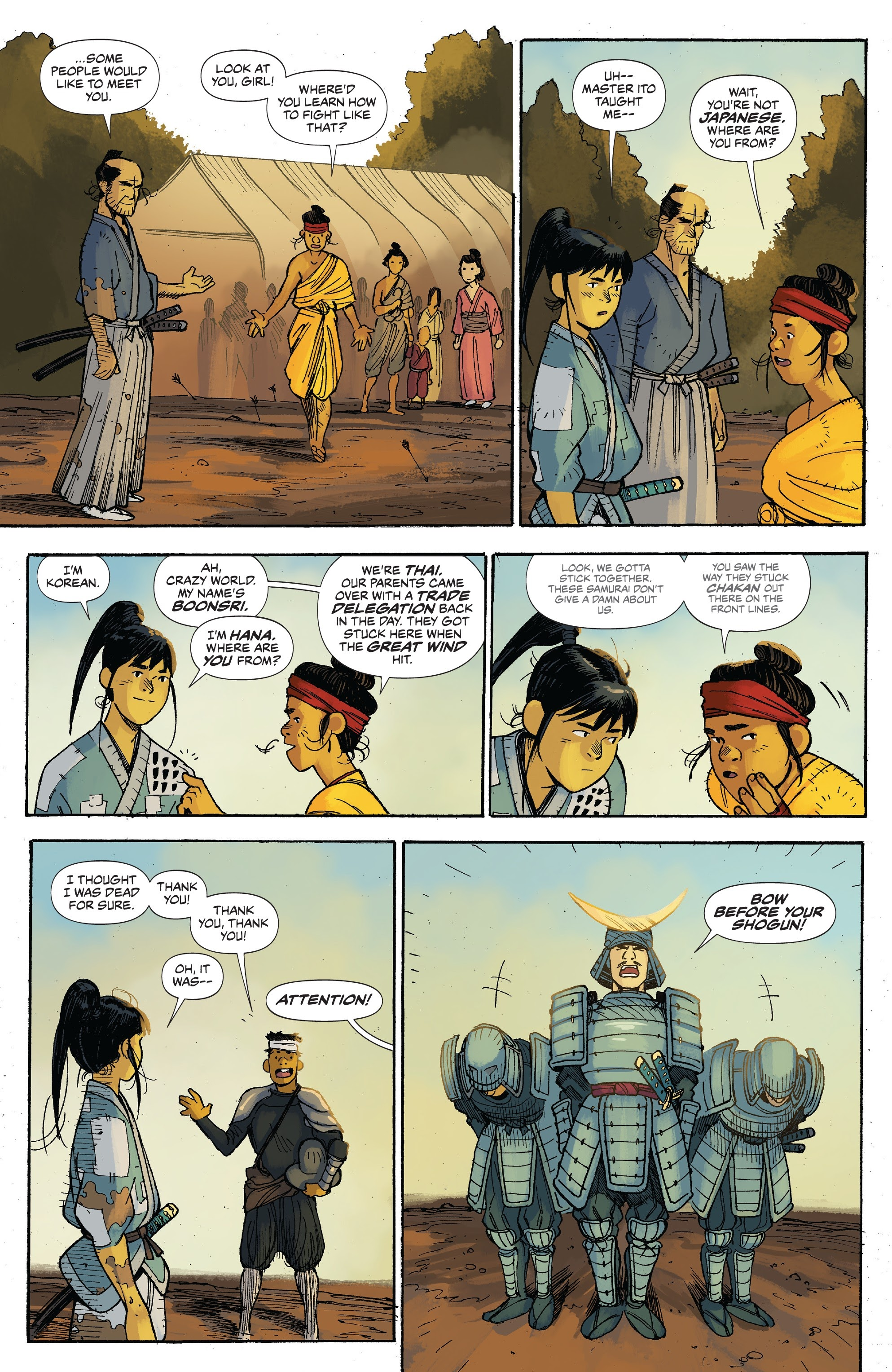 Read online Ronin Island comic -  Issue #3 - 22
