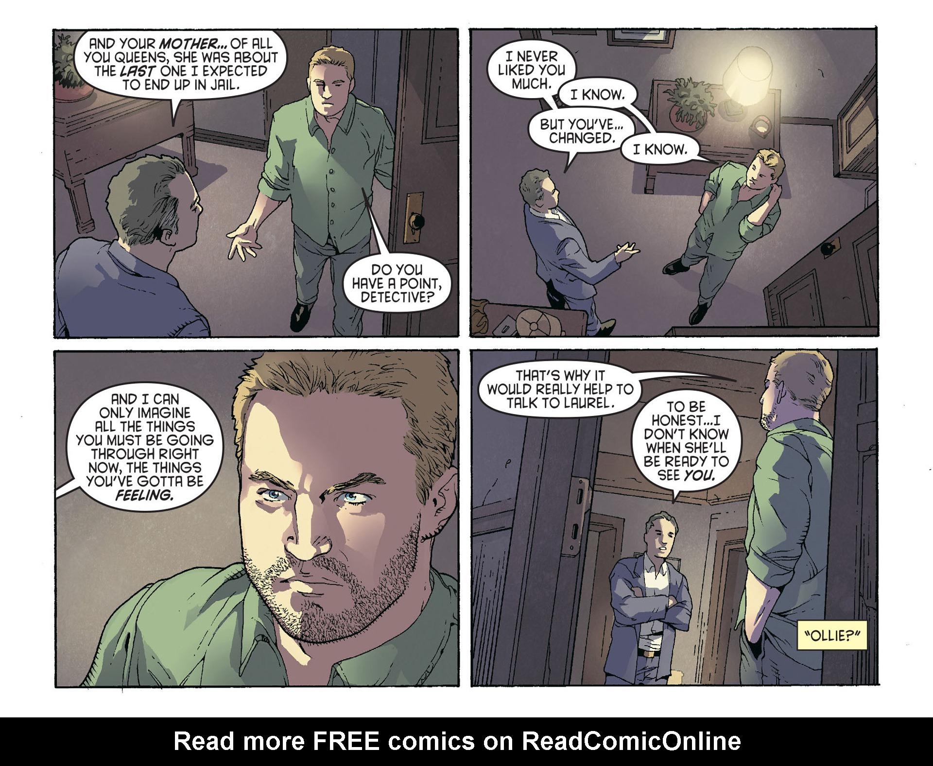 Read online Arrow [II] comic -  Issue #36 - 8