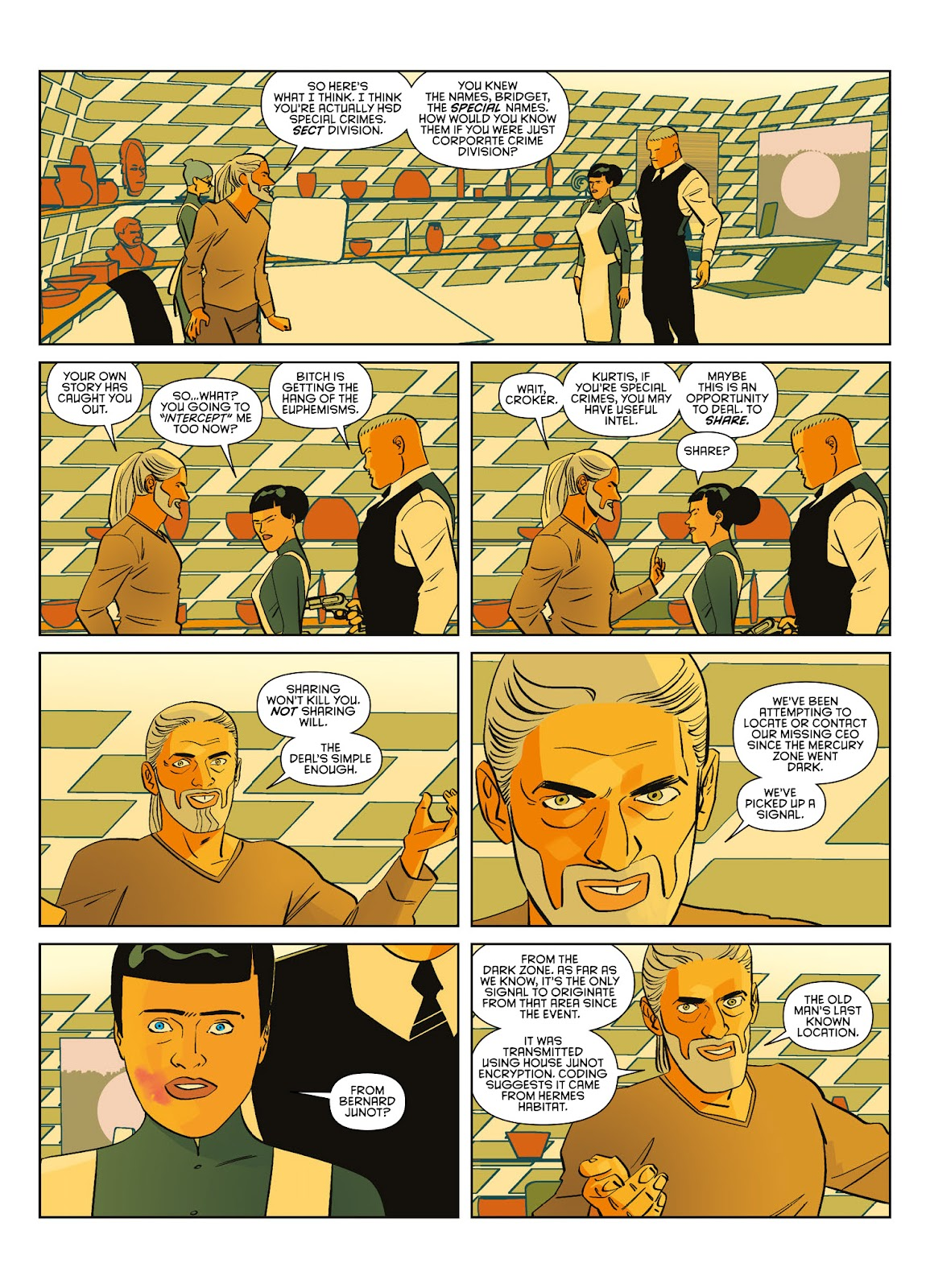 Read online Brink comic -  Issue # TPB 3 - 61