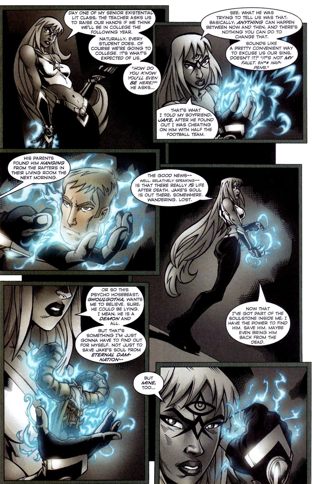Read online Jezebelle comic -  Issue #4 - 6