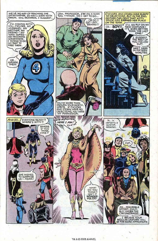 Read online Uncanny X-Men (1963) comic -  Issue # _Annual 5 - 17