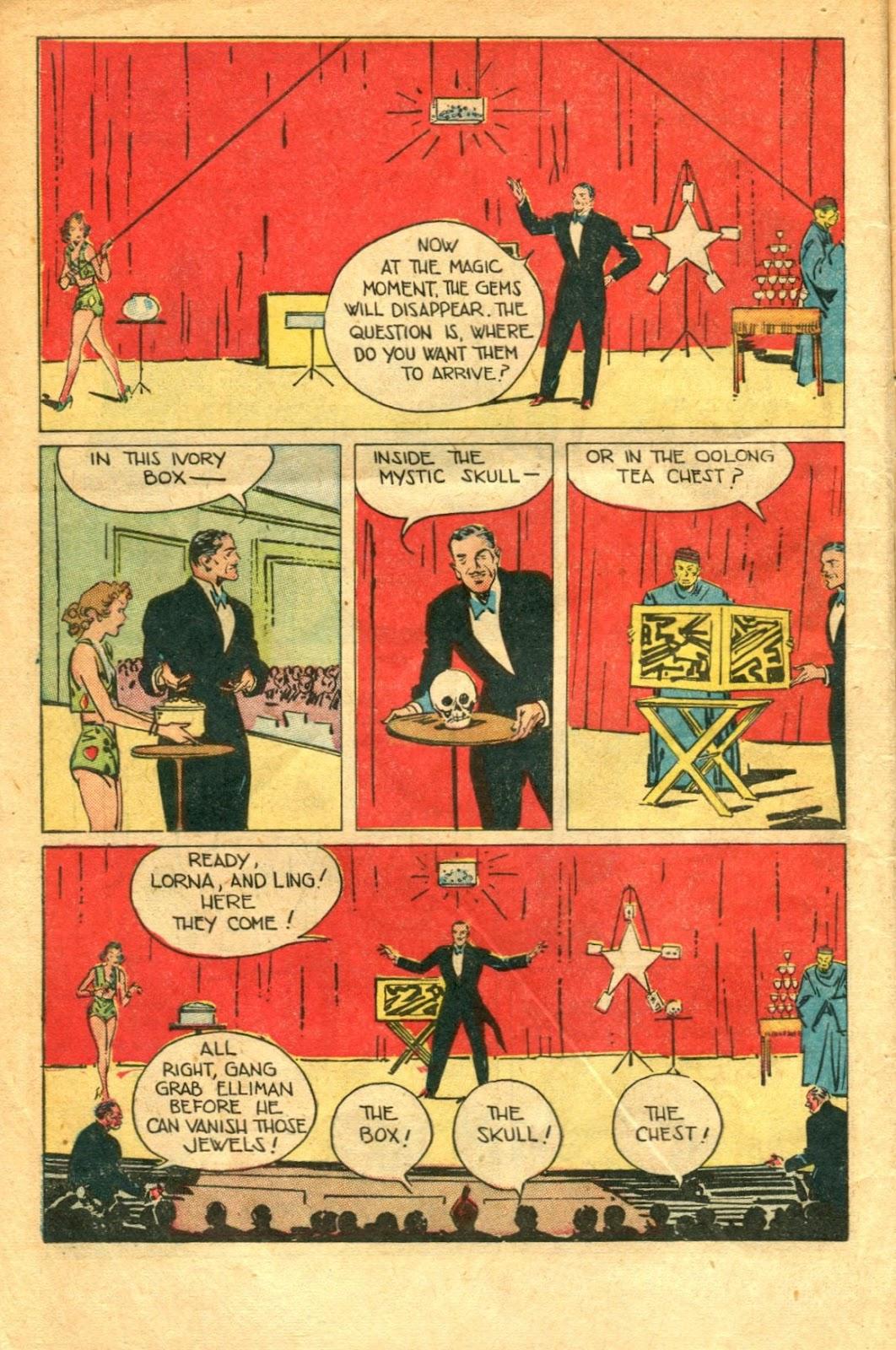 Read online Super-Magician Comics comic -  Issue #48 - 10