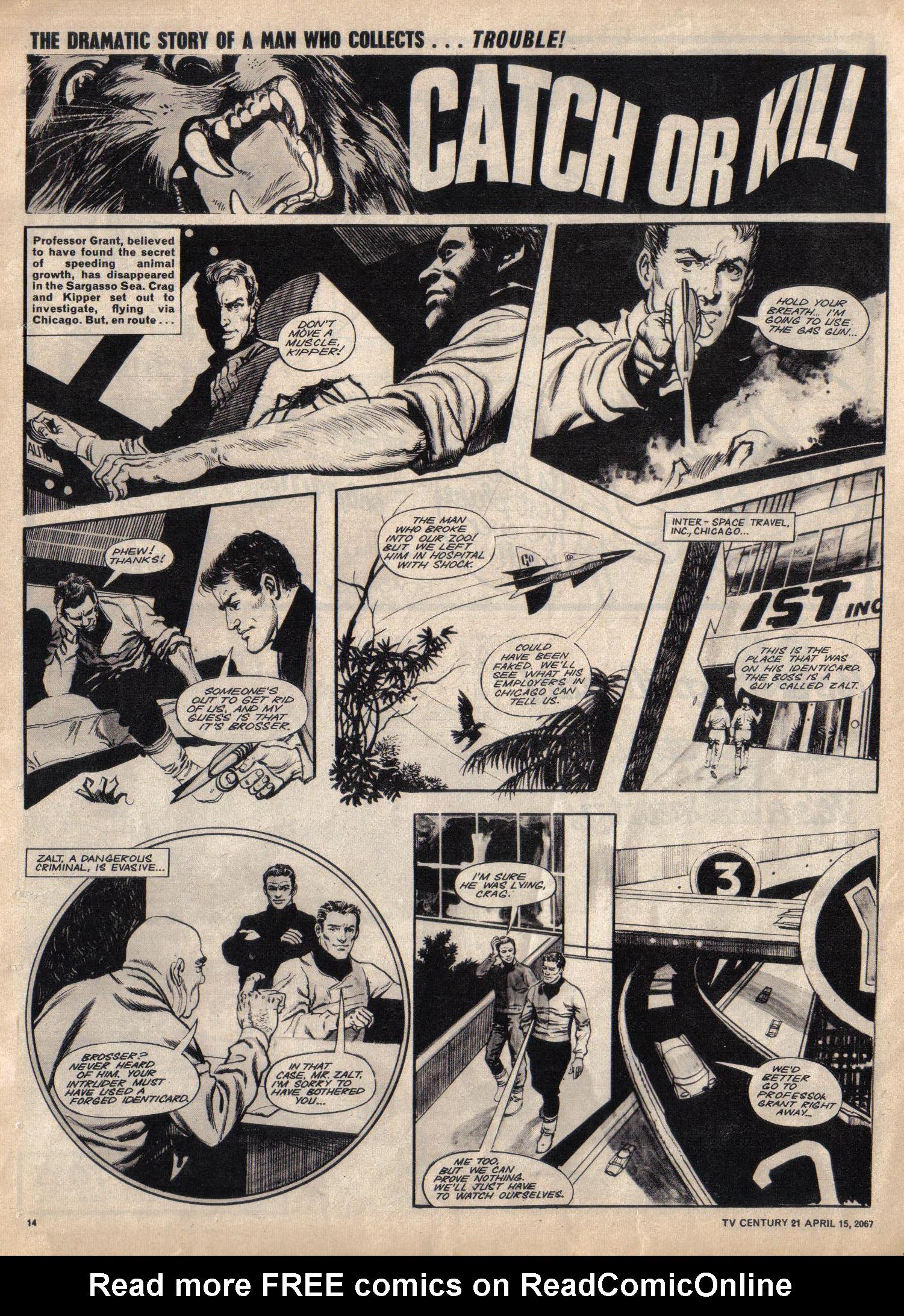 Read online TV Century 21 (TV 21) comic -  Issue #117 - 13