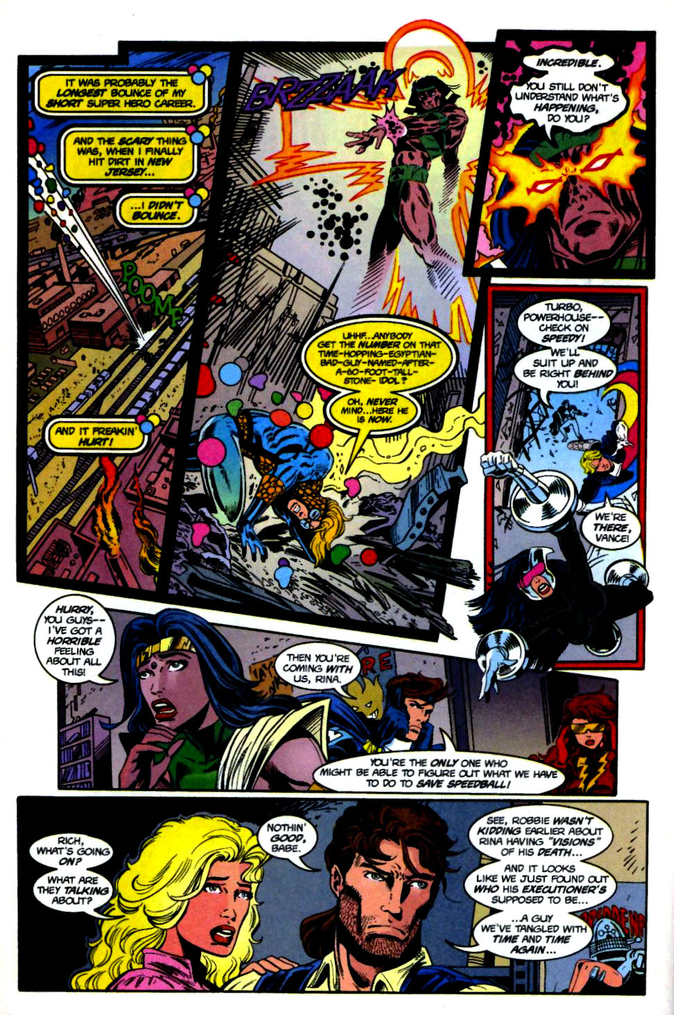 The New Warriors Issue #69 #73 - English 7