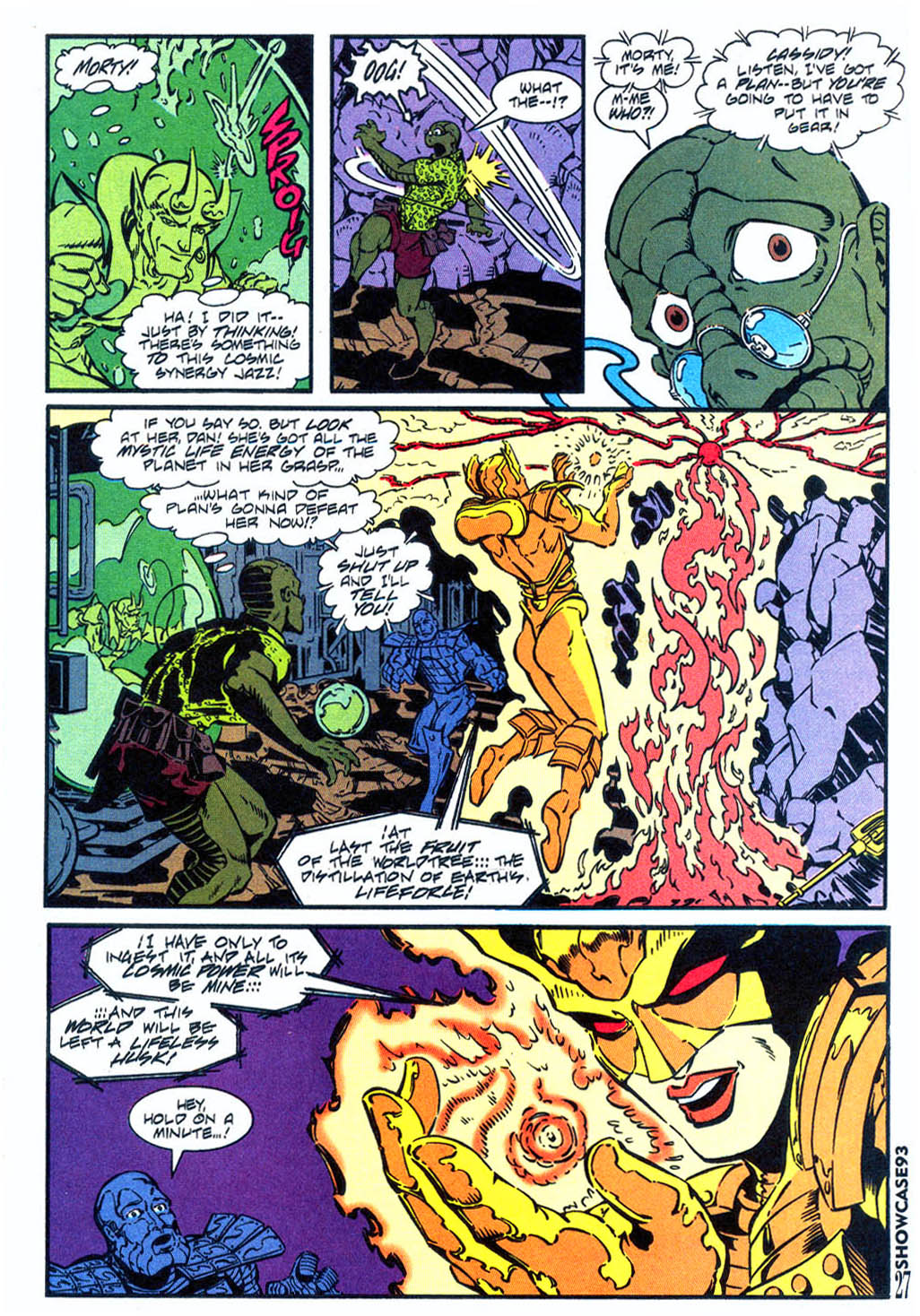 Read online Showcase '93 comic -  Issue #5 - 24