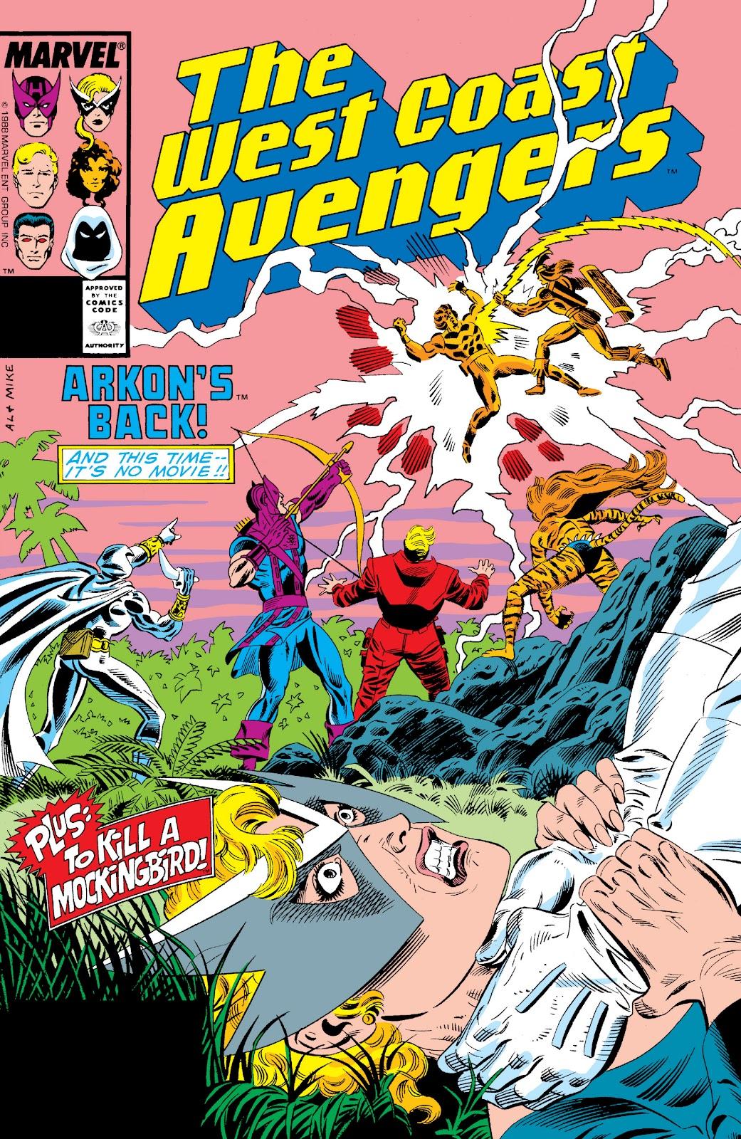 West Coast Avengers (1985) 31 Page 1