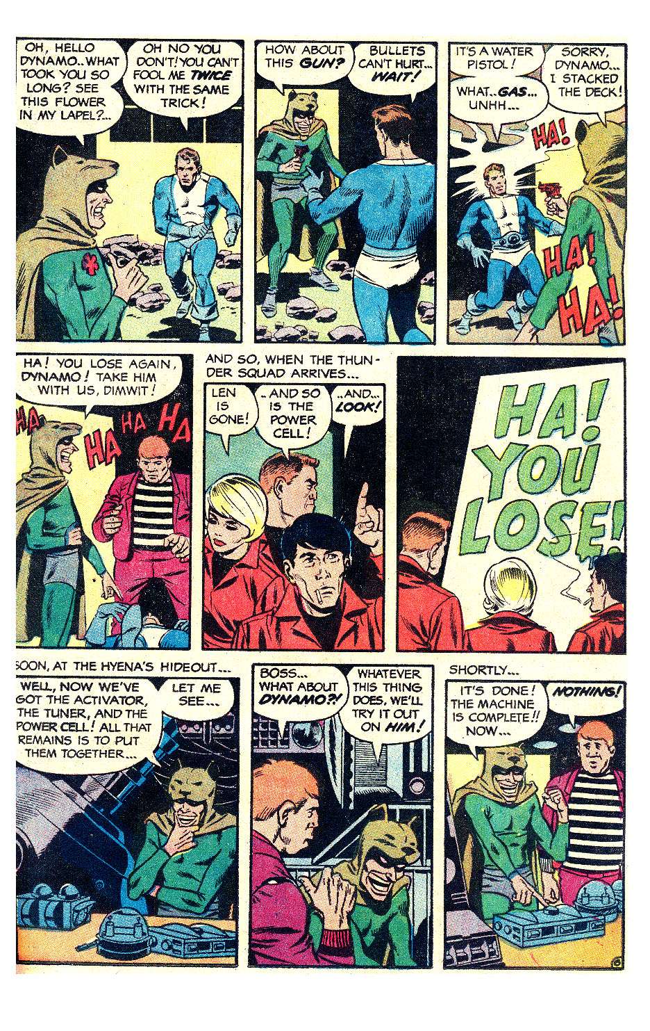 T.H.U.N.D.E.R. Agents (1965) issue 17 - Page 11