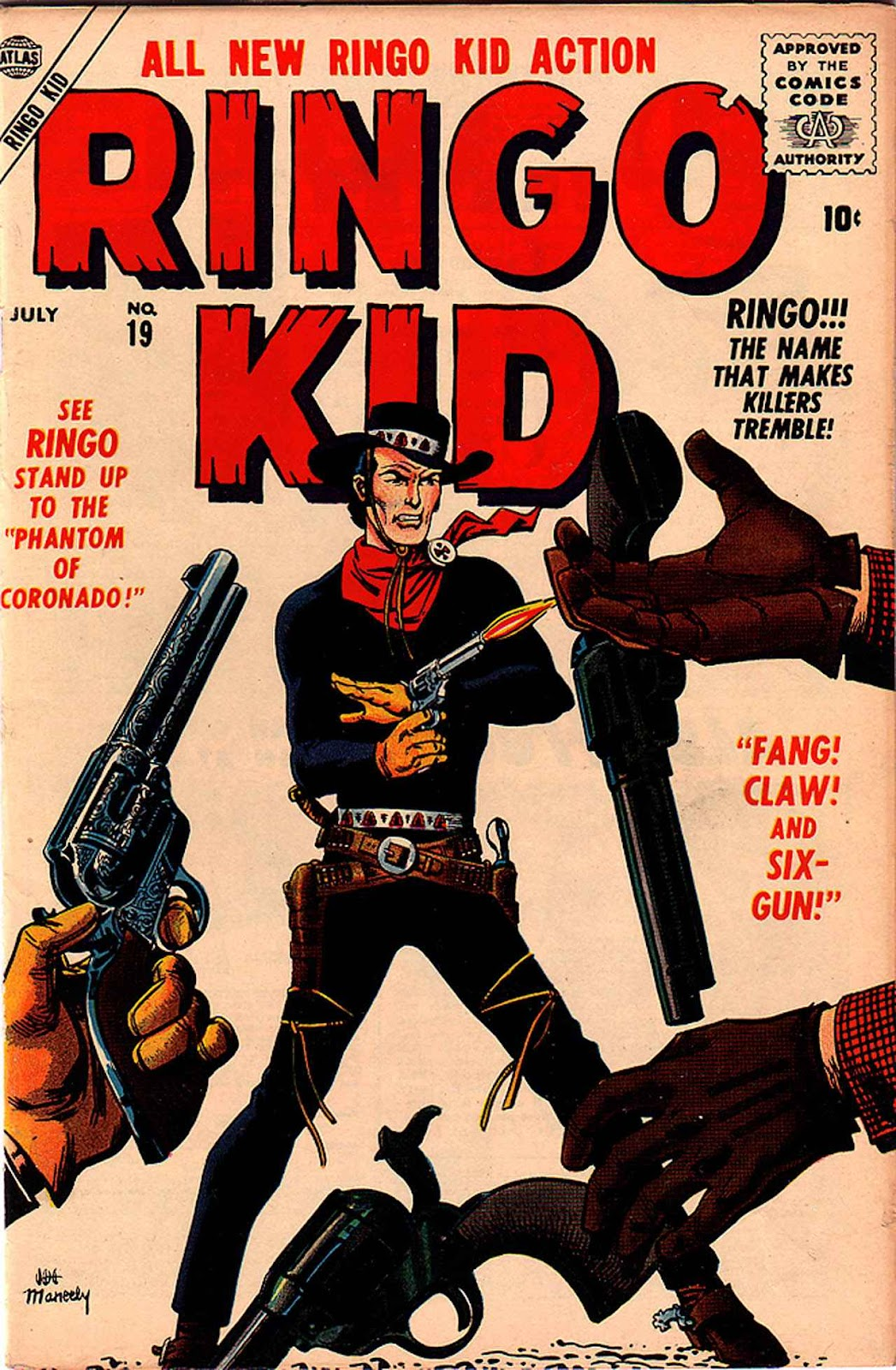 Ringo Kid (1955) issue 19 - Page 1