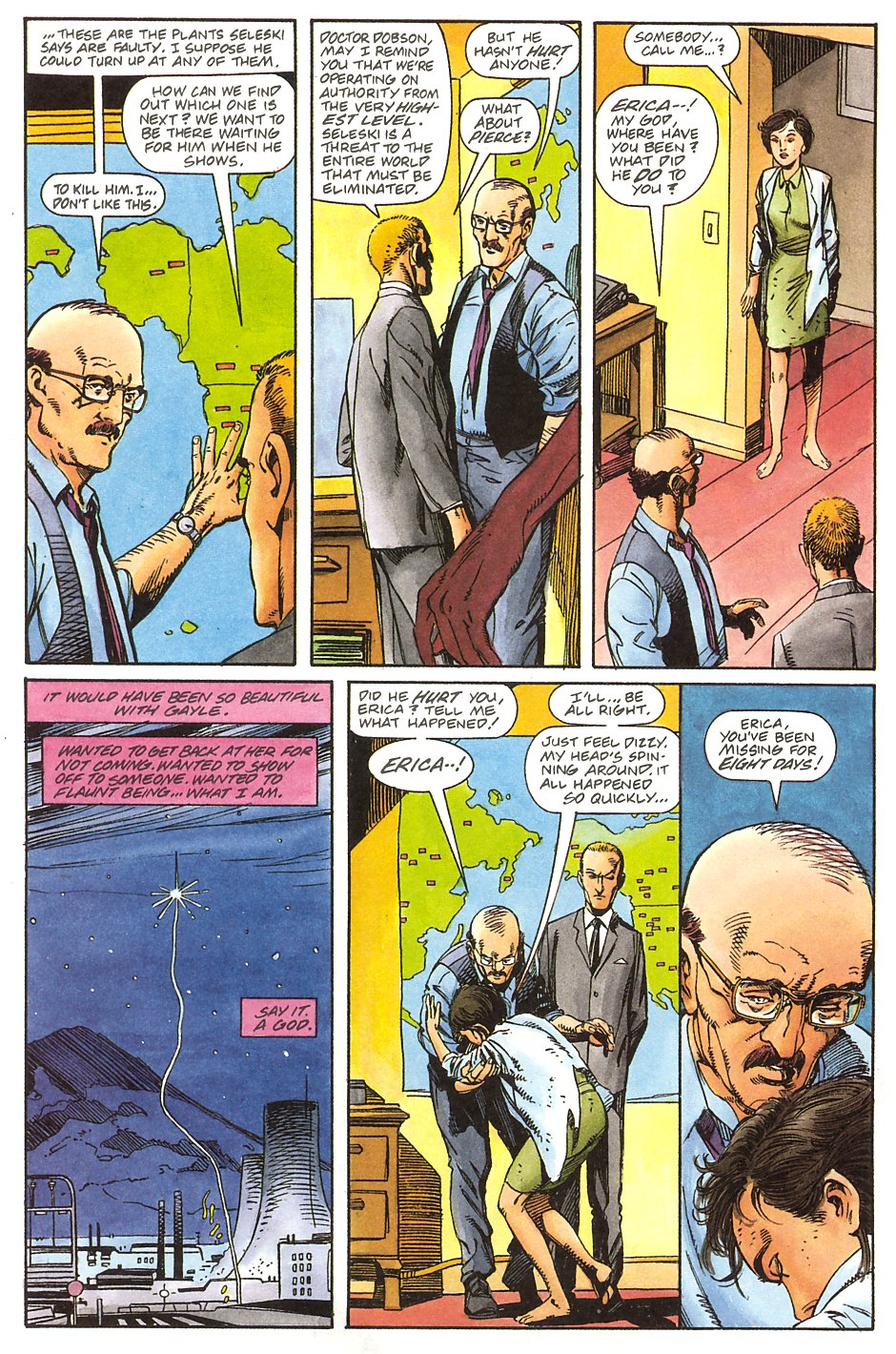 Read online Solar, Man of the Atom comic -  Issue #9 - 23
