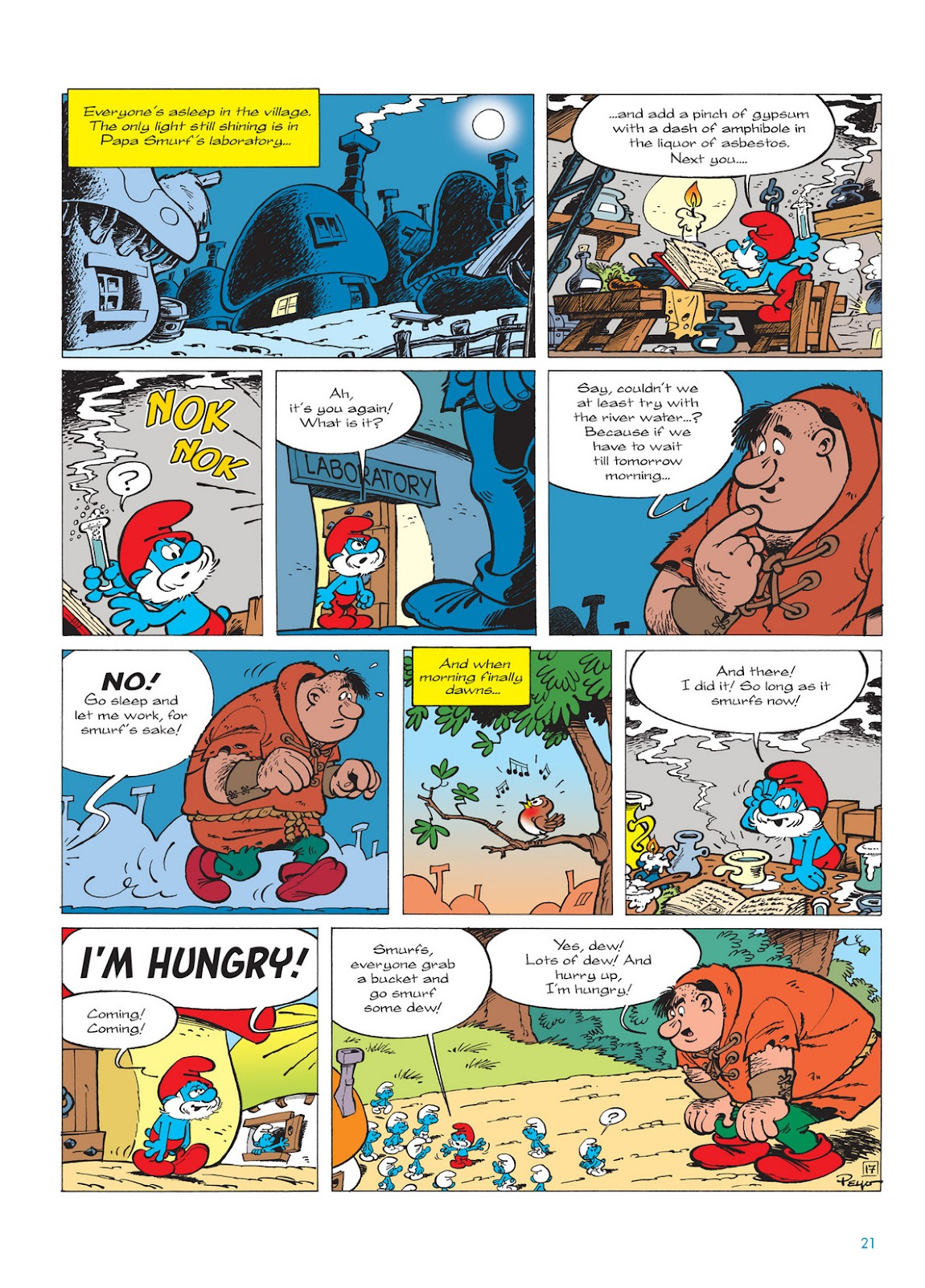 Read online The Smurfs comic -  Issue #13 - 21