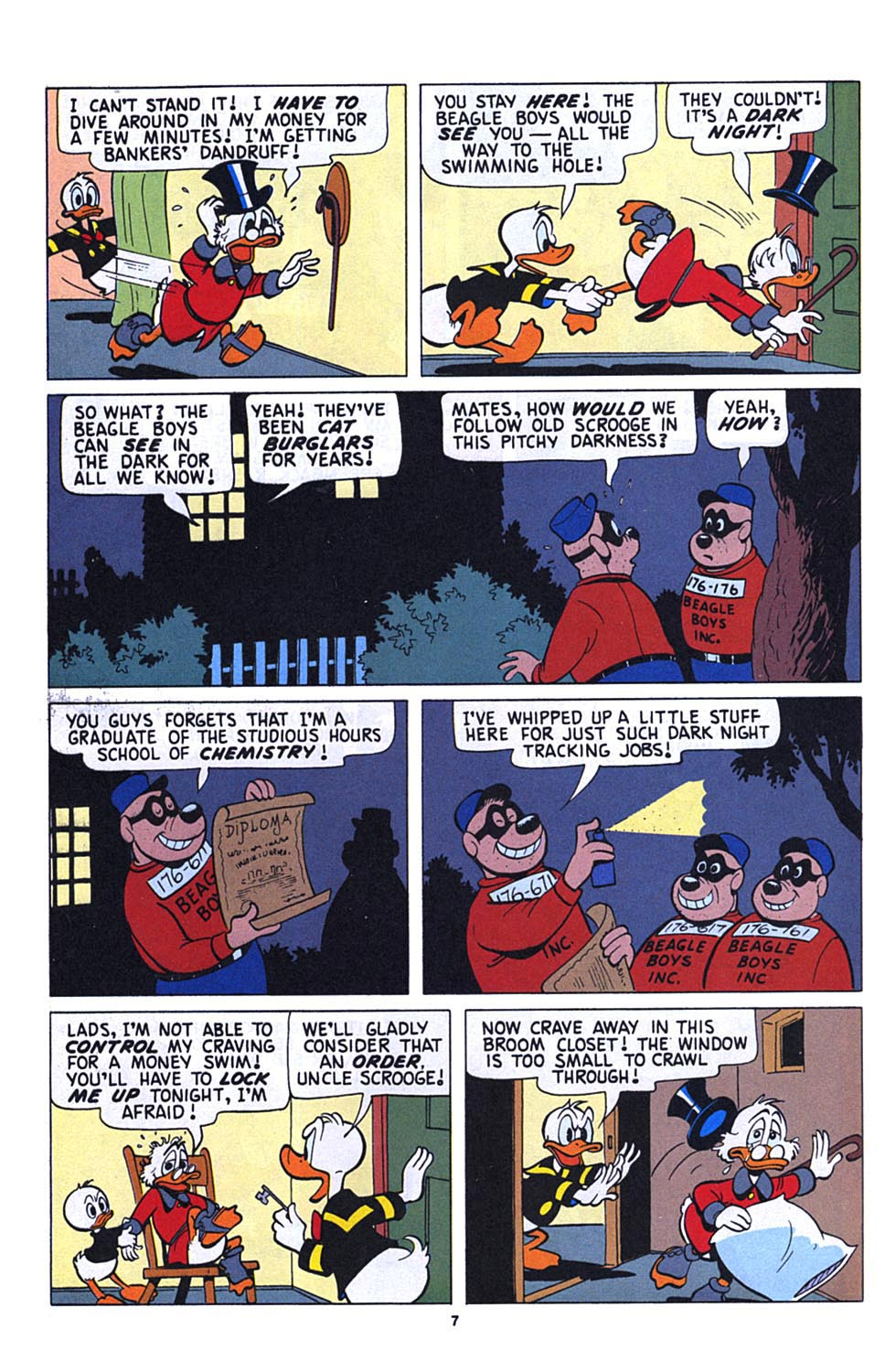 Read online Uncle Scrooge (1953) comic -  Issue #273 - 8