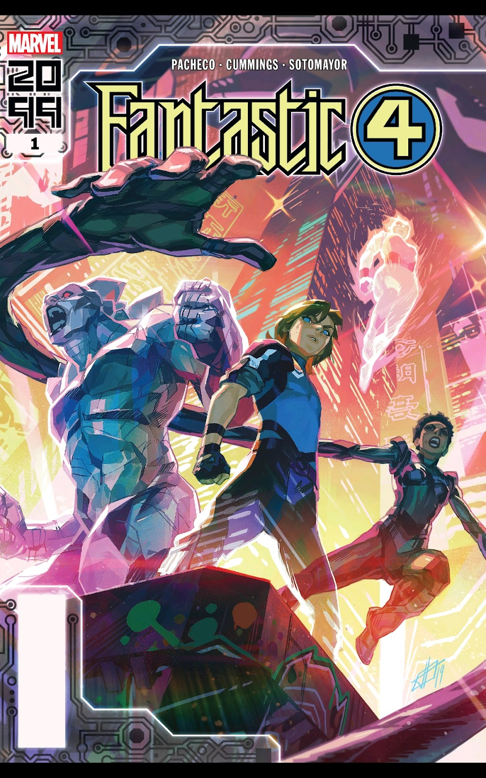 Read online Fantastic Four 2099 (2019) comic -  Issue # Full - 1