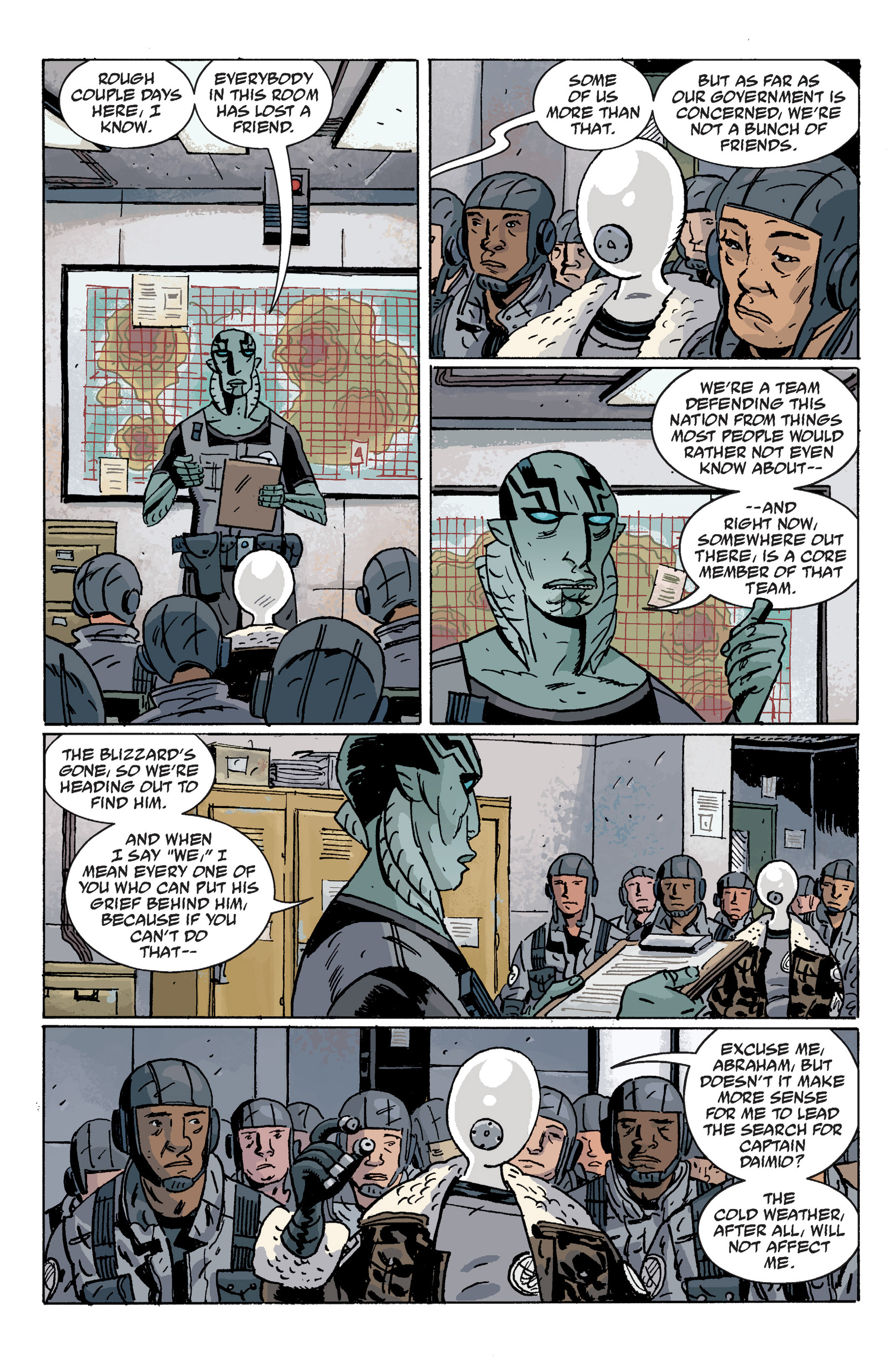 Read online B.P.R.D. (2003) comic -  Issue # TPB 10 - 8