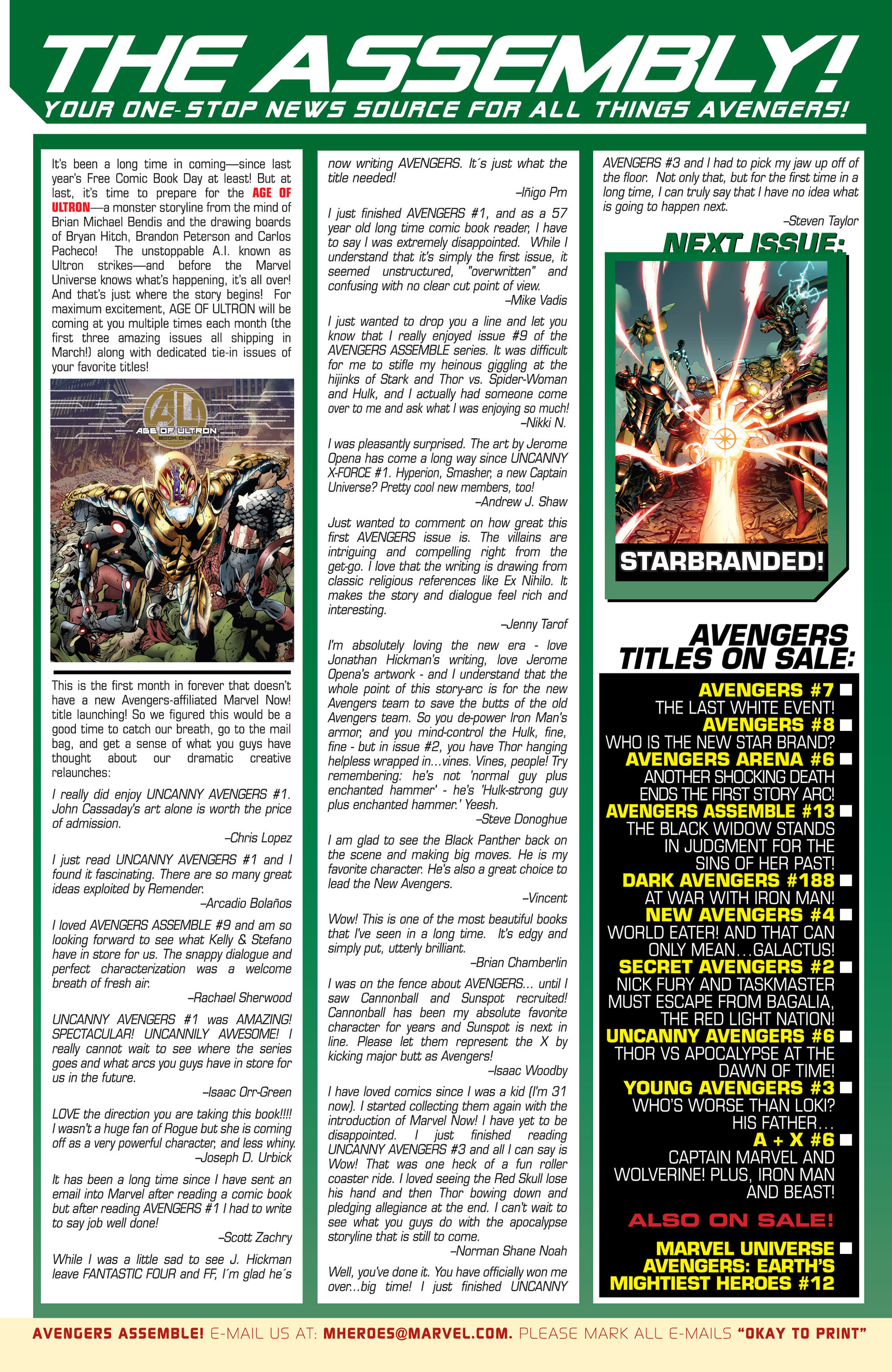 Read online Avengers (2013) comic -  Issue #7 - 25