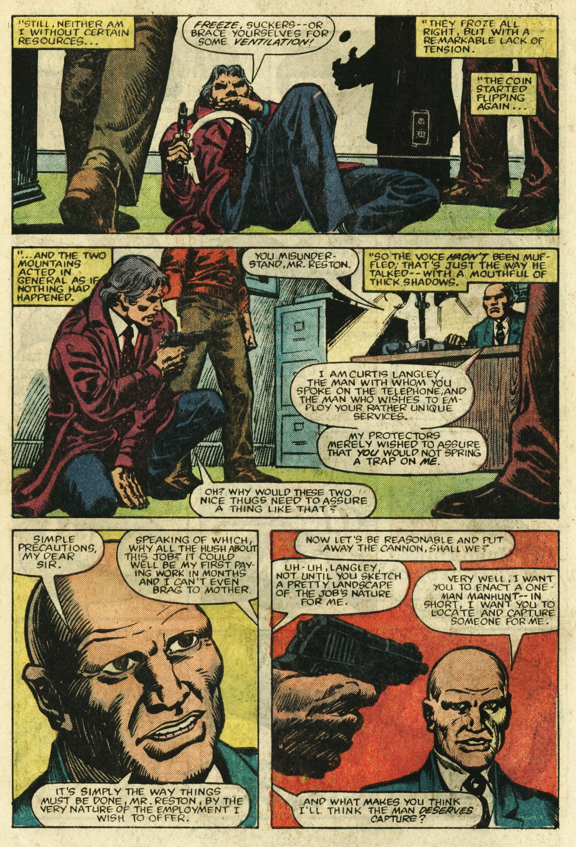 Read online Master of Kung Fu (1974) comic -  Issue #122 - 5
