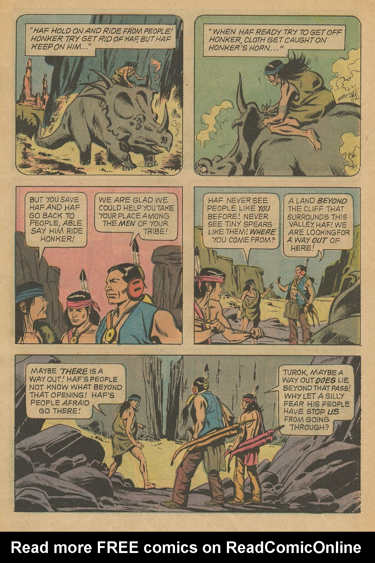 Read online Turok, Son of Stone comic -  Issue #79 - 5