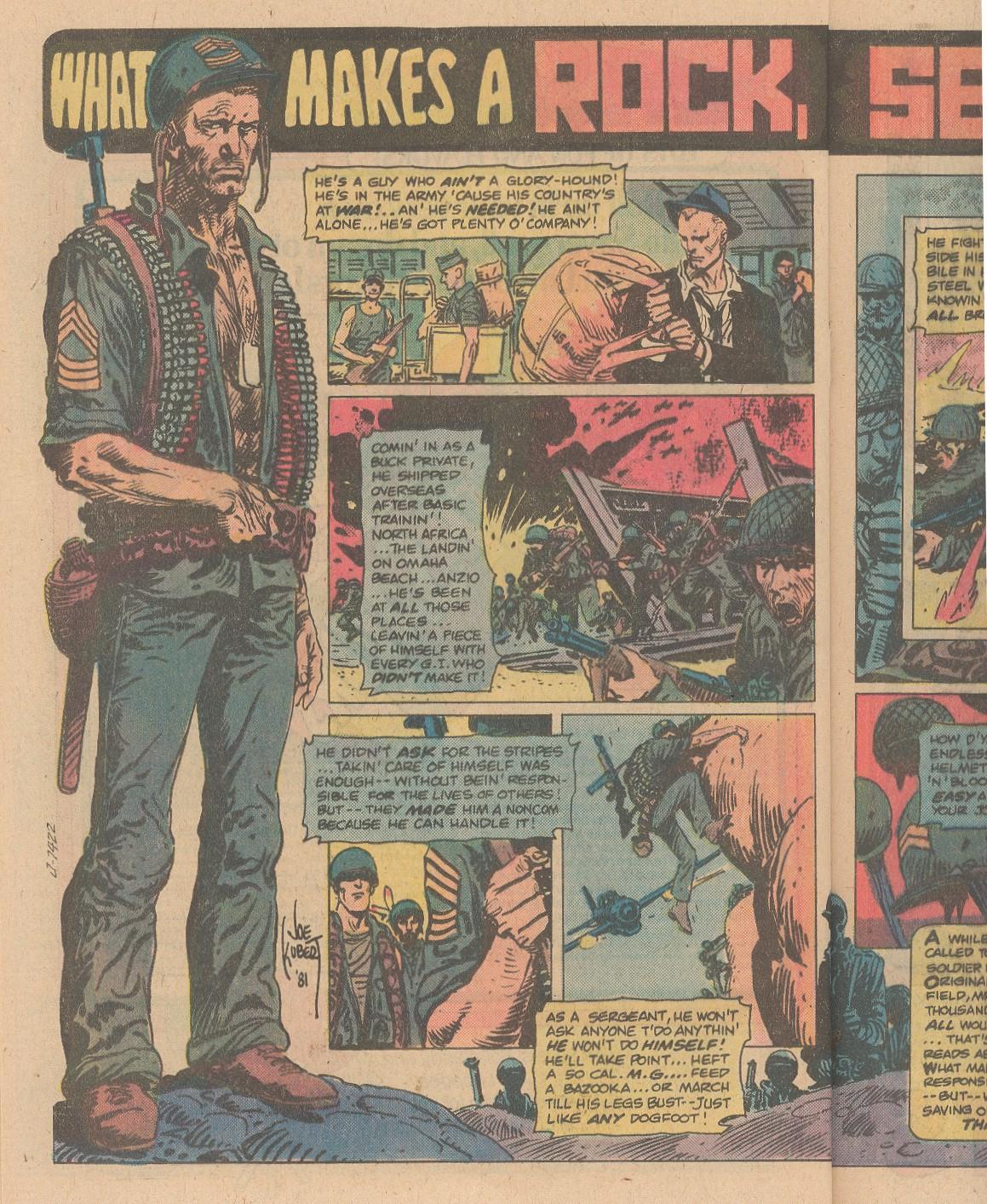 Read online Sgt. Rock comic -  Issue #356 - 15