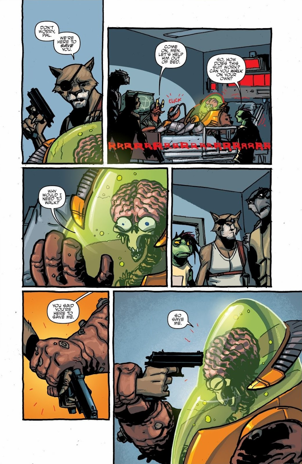 Read online Teenage Mutant Ninja Turtles: The IDW Collection comic -  Issue # TPB 6 (Part 1) - 24