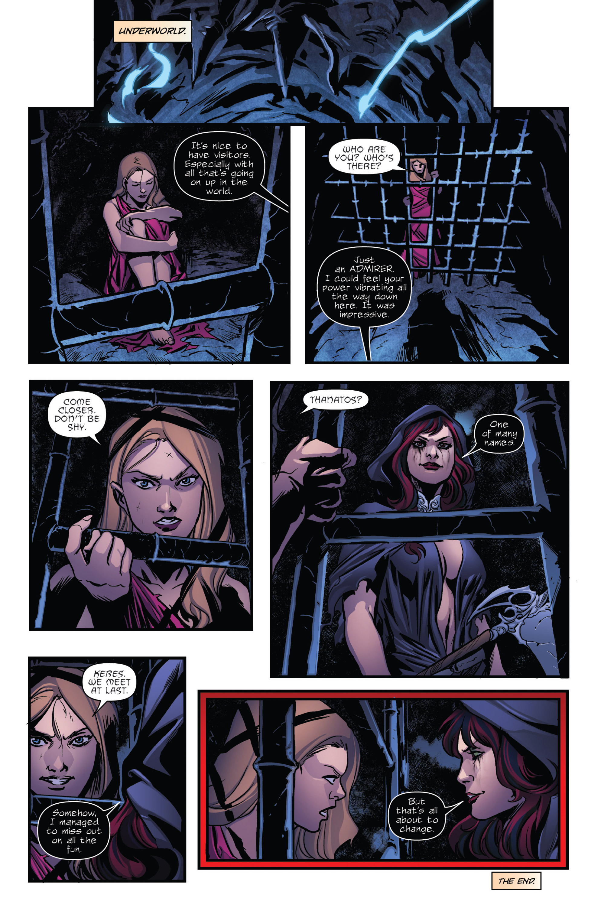 Read online Grimm Fairy Tales presents Goddess Inc. comic -  Issue #5 - 25