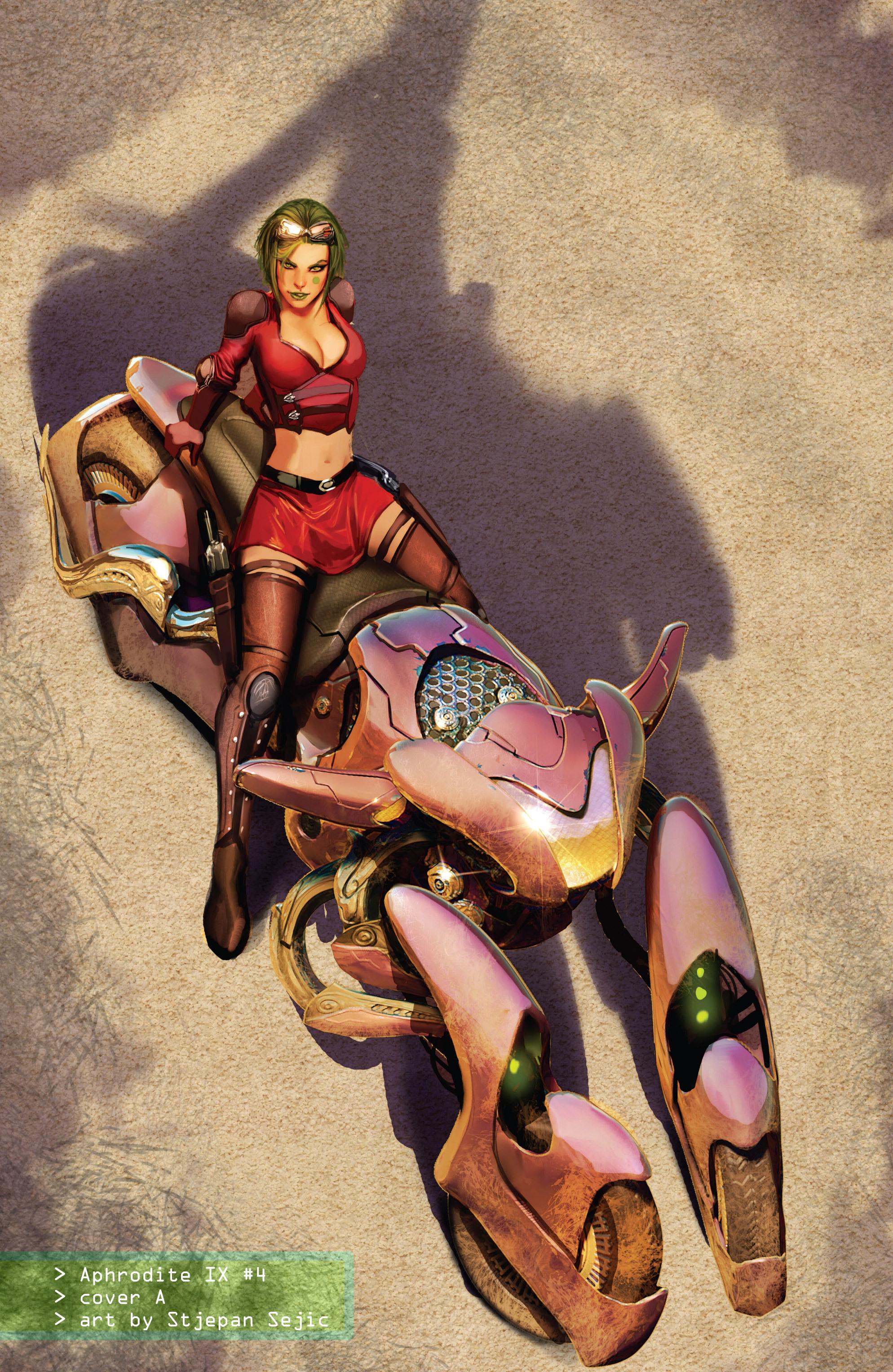 Read online Aphrodite IX (2013) comic -  Issue #Aphrodite IX (2013) _TPB 1 - 116