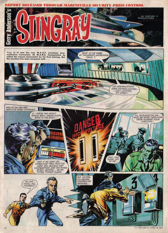 Read online TV Century 21 (TV 21) comic -  Issue #119 - 15