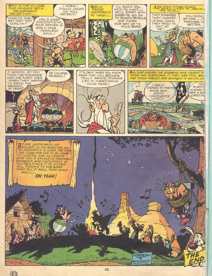 Read online Asterix comic -  Issue #9 - 45
