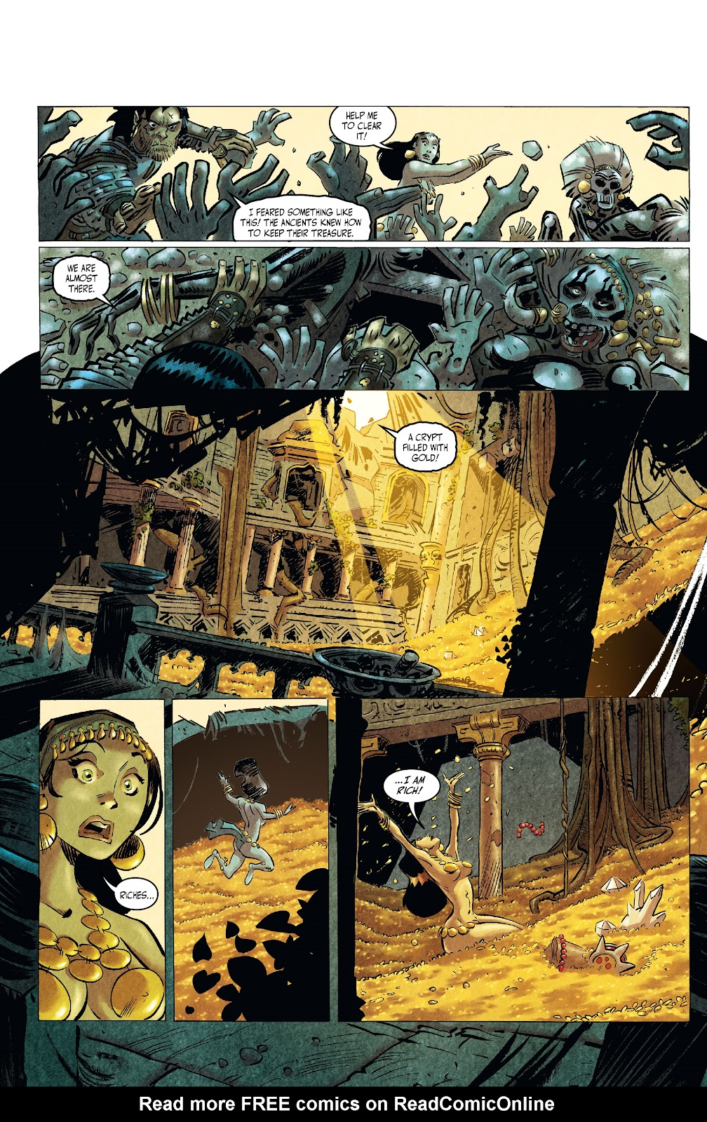 The Cimmerian: Queen of the Black Coast issue 2 - Page 7