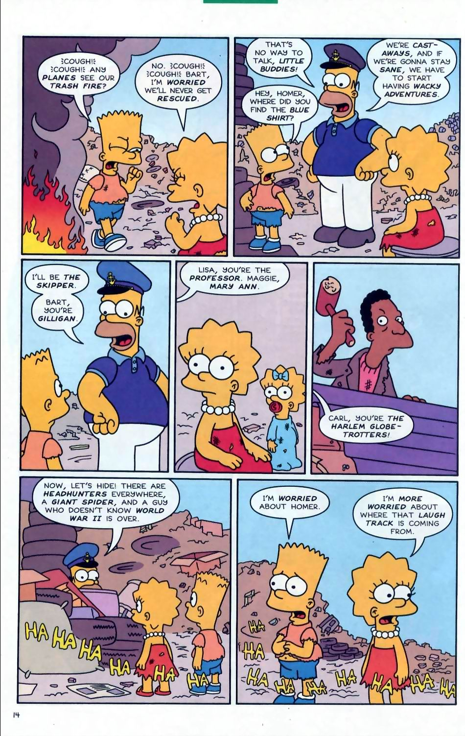 Read online Simpsons Comics comic -  Issue #72 - 15